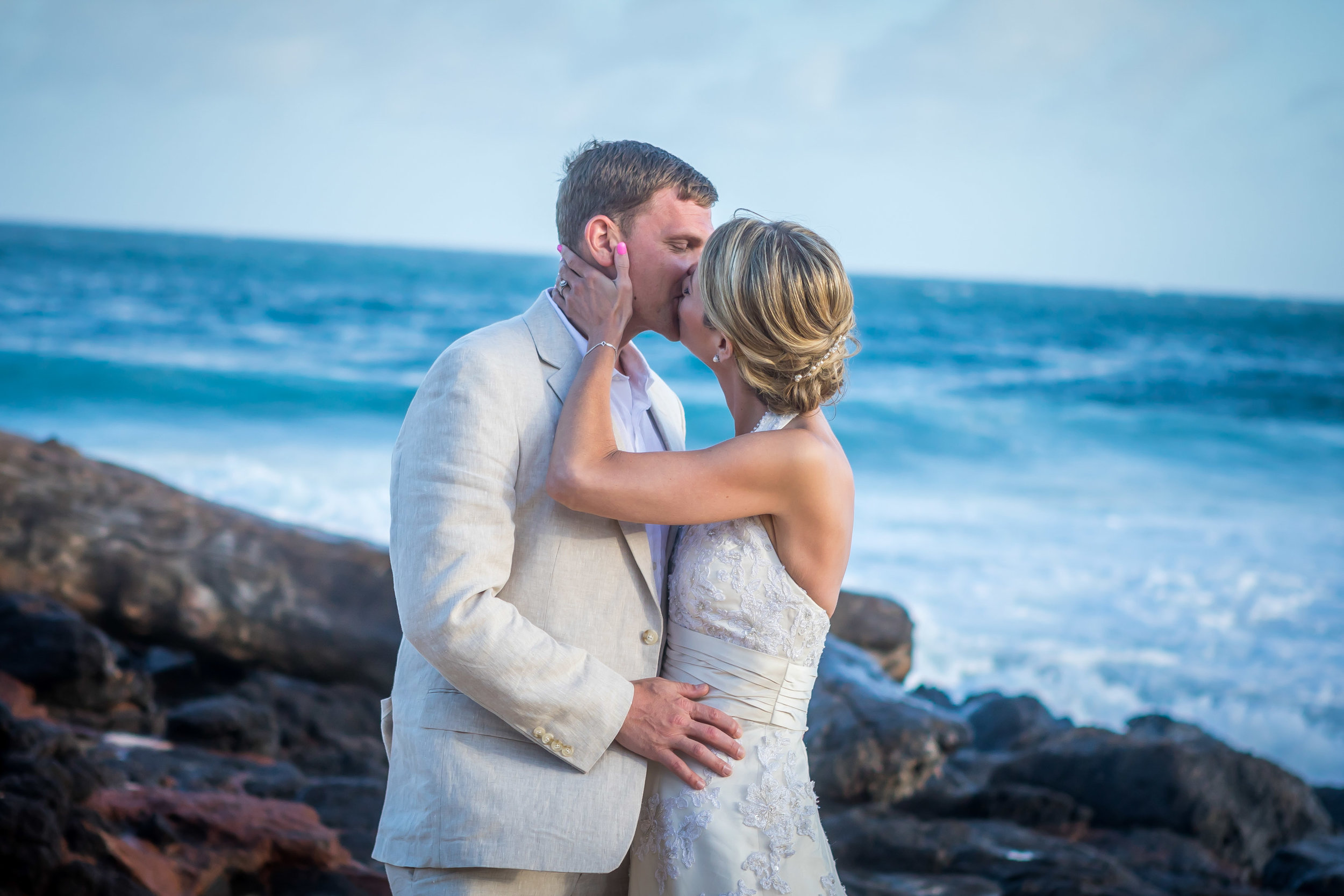 Kauai Beach Wedding Photograph-25