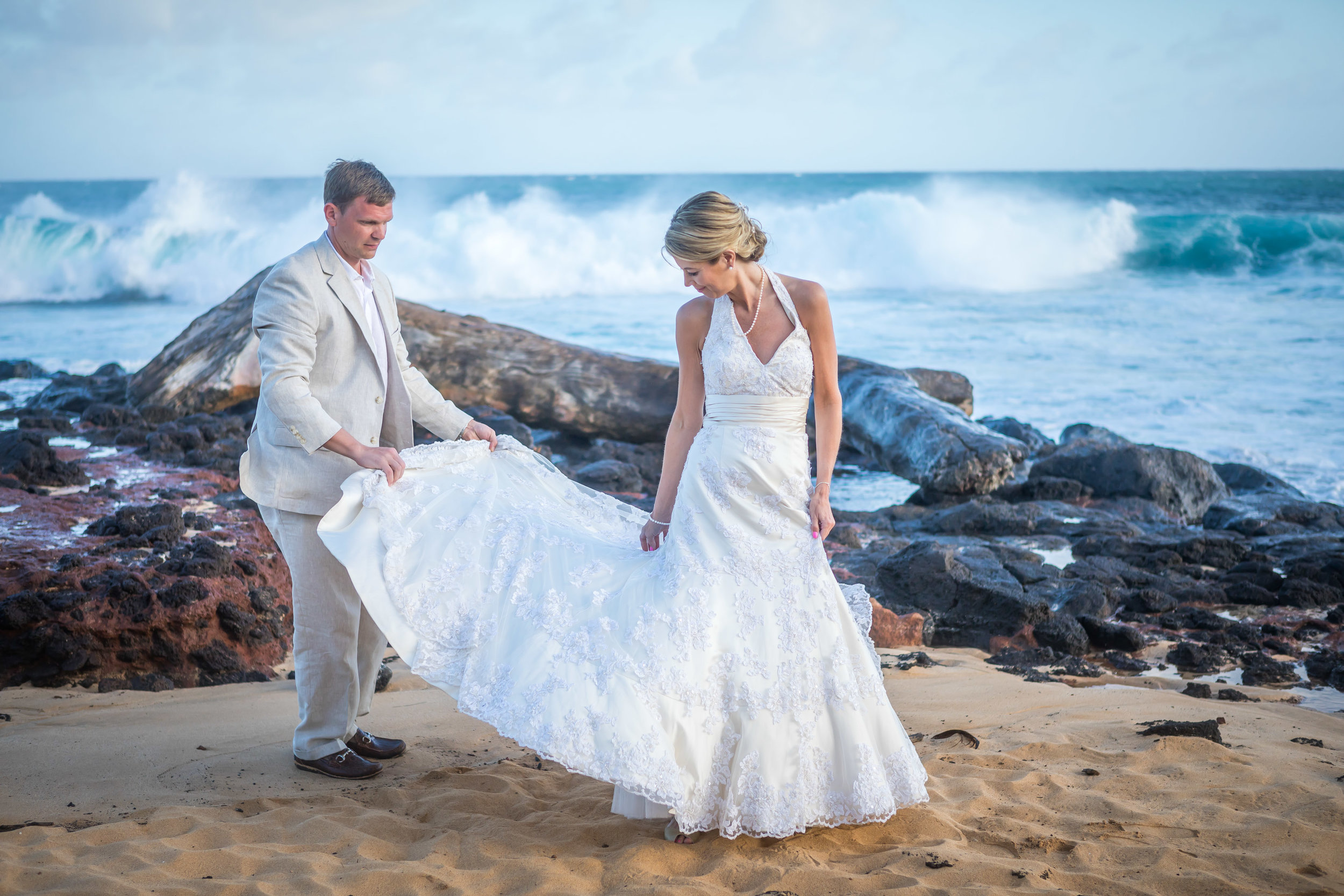 Kauai Beach Wedding Photograph-24
