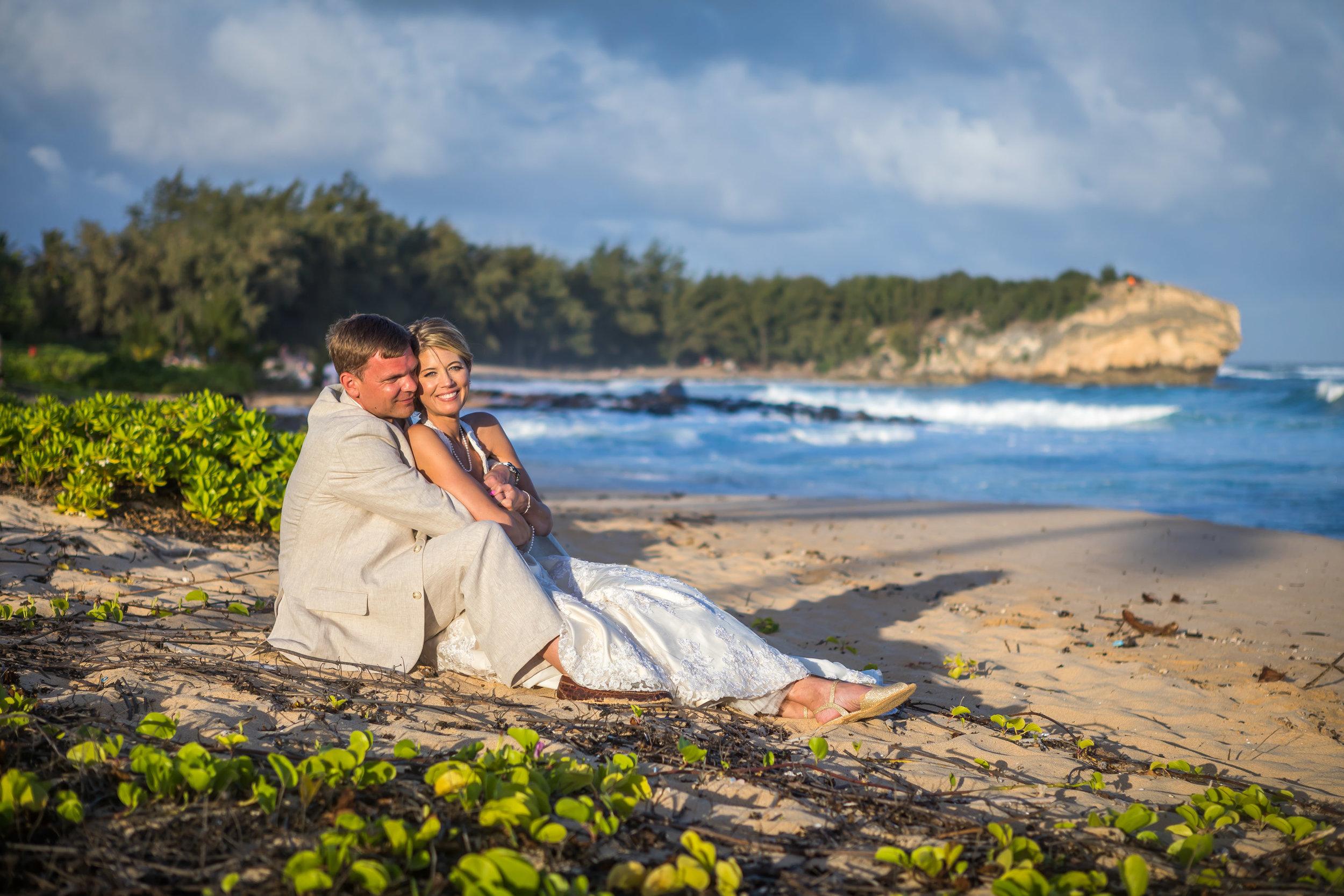 Kauai Beach Wedding Photograph-26