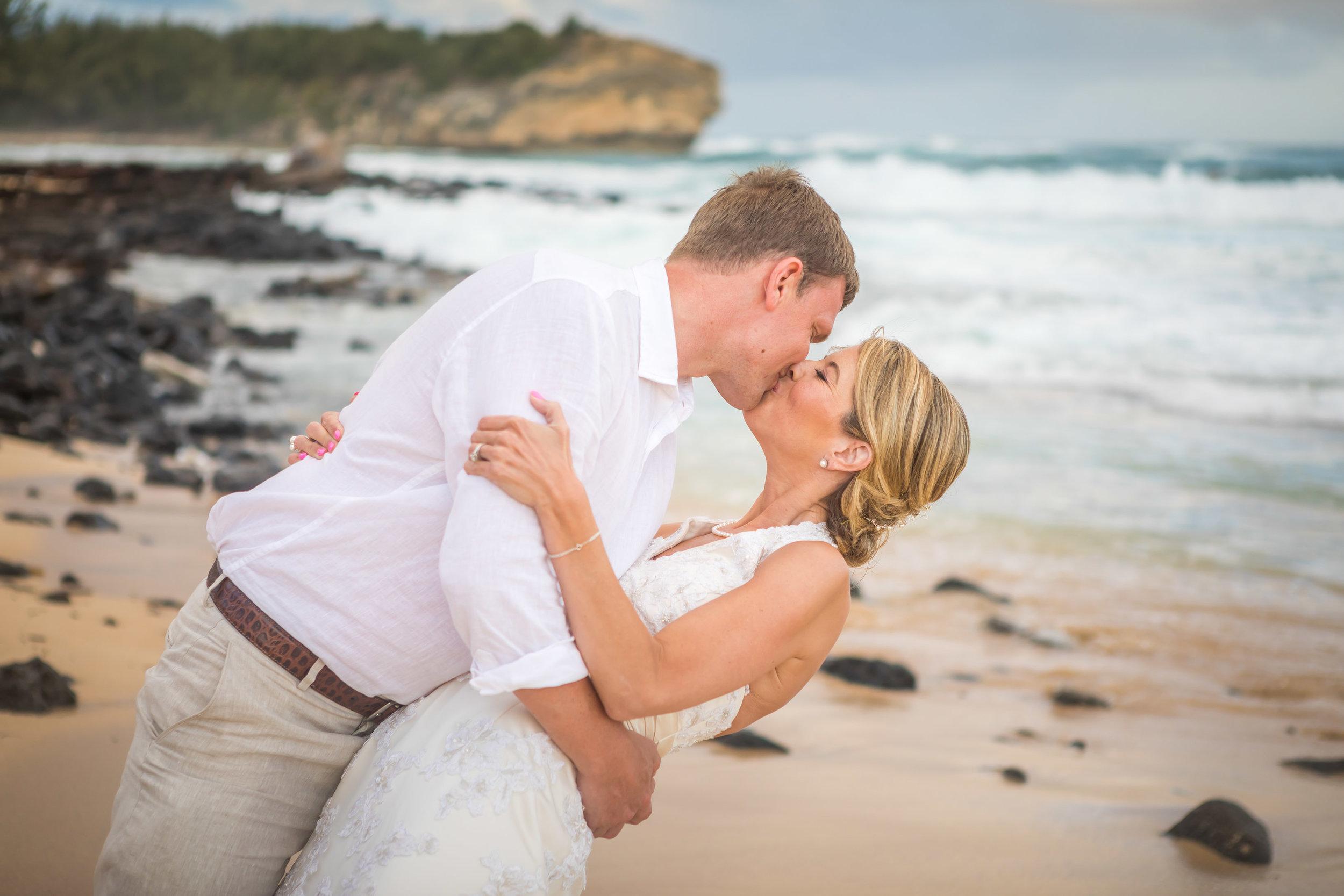 Kauai Beach Wedding Photograph-29