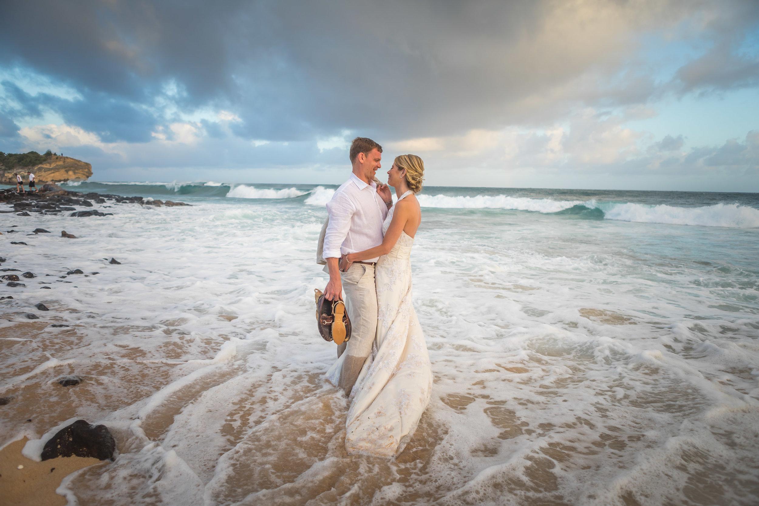Kauai Beach Wedding Photograph-31