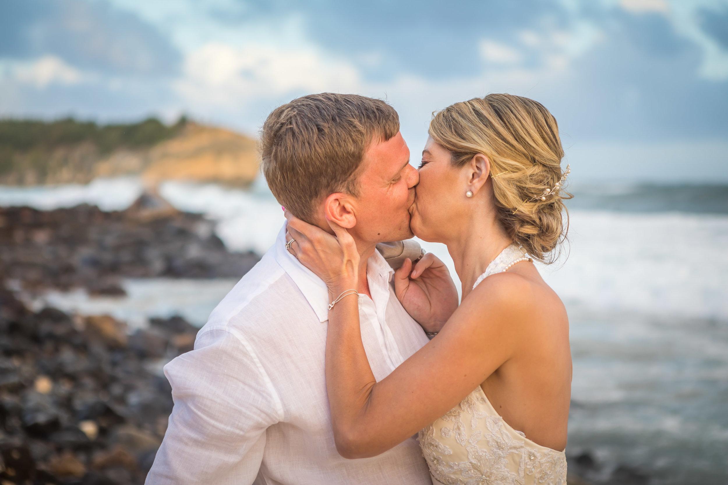 Kauai Beach Wedding Photograph-32