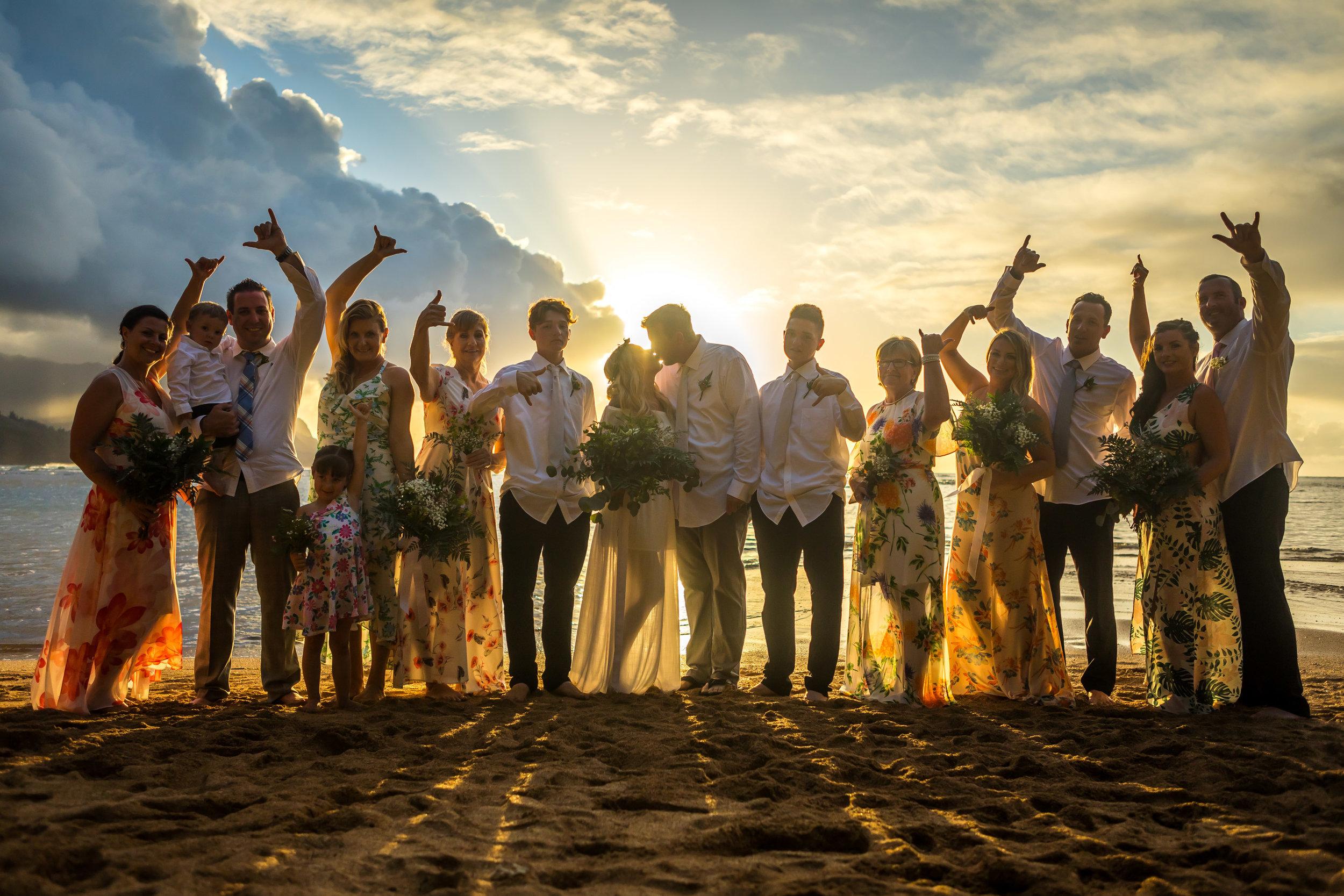 Kauai Beach Wedding Photograph-23