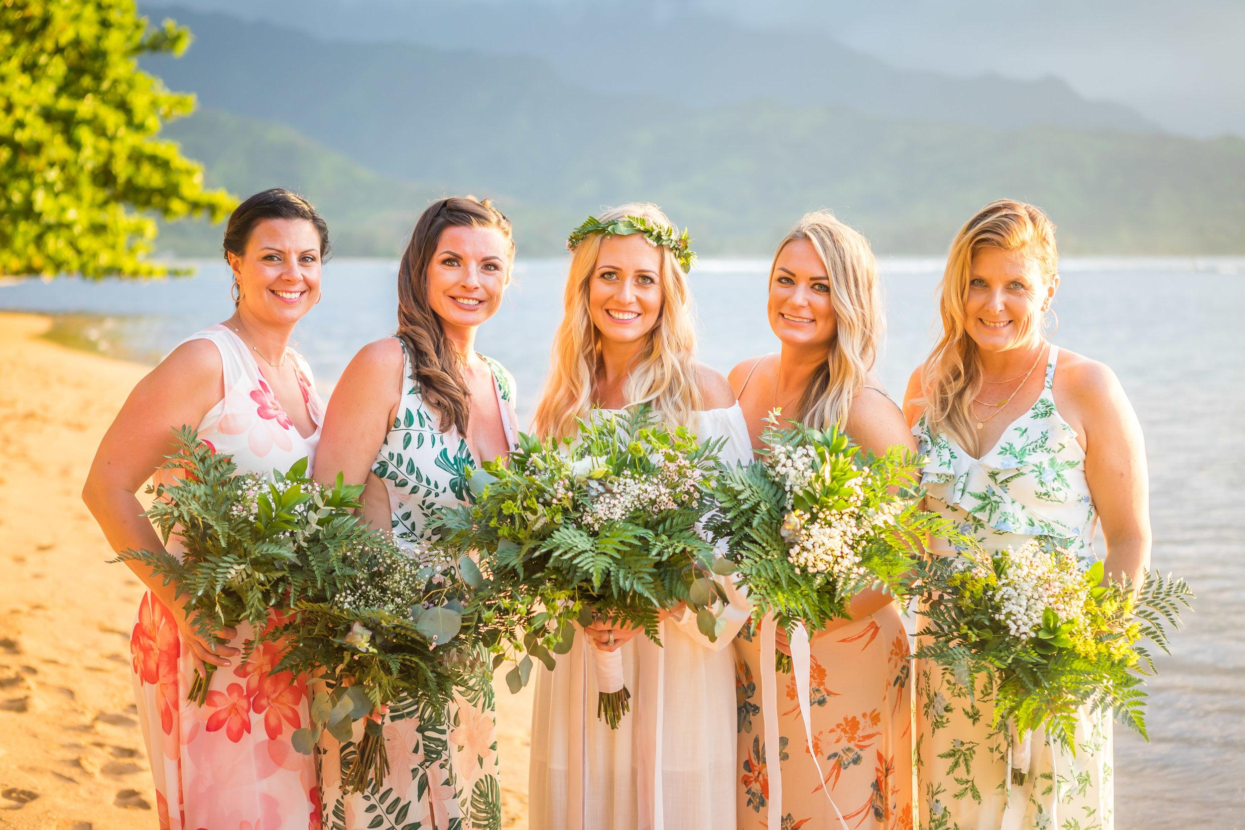 Kauai Beach Wedding Photograph-4