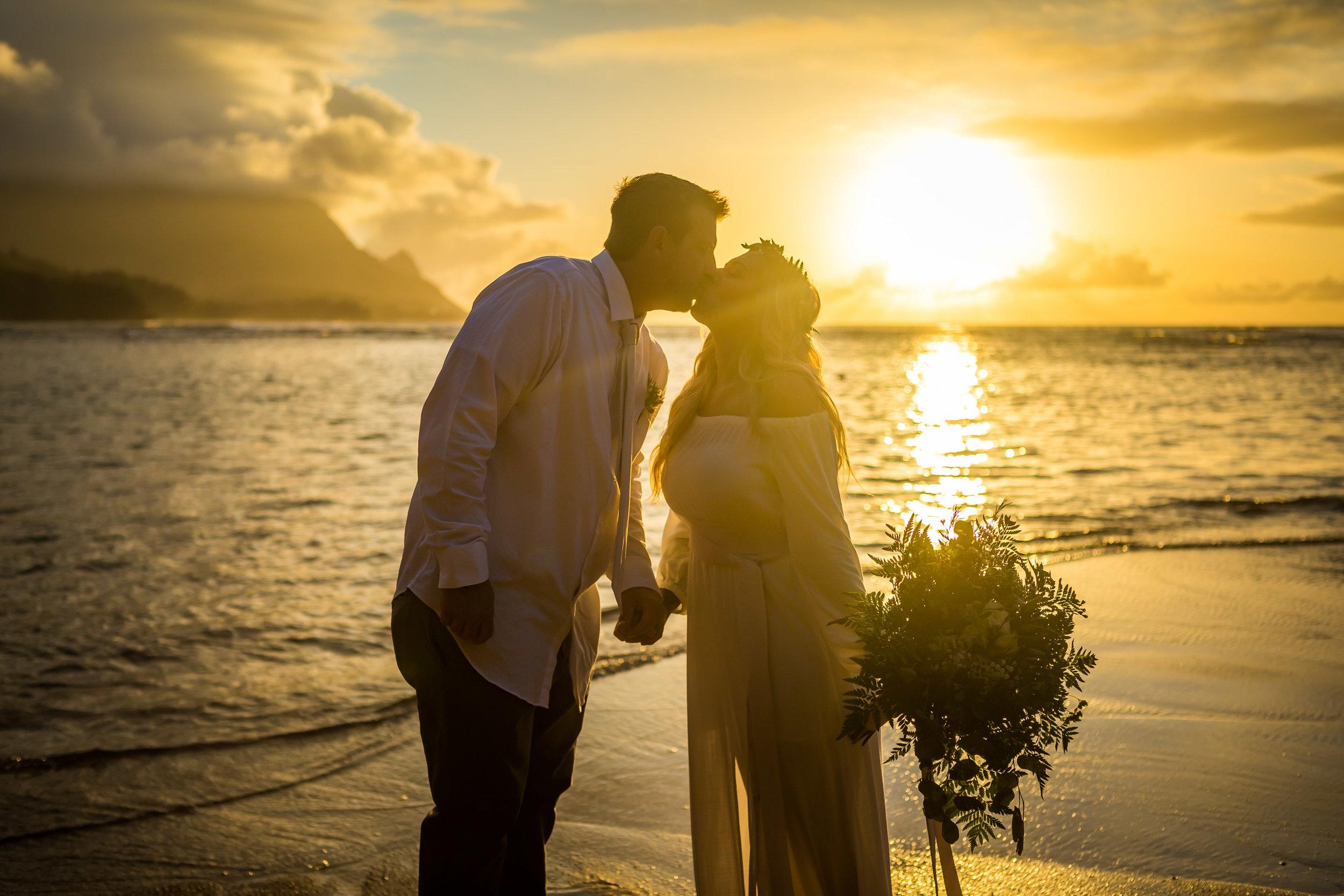 Kauai Beach Wedding Photograph-21