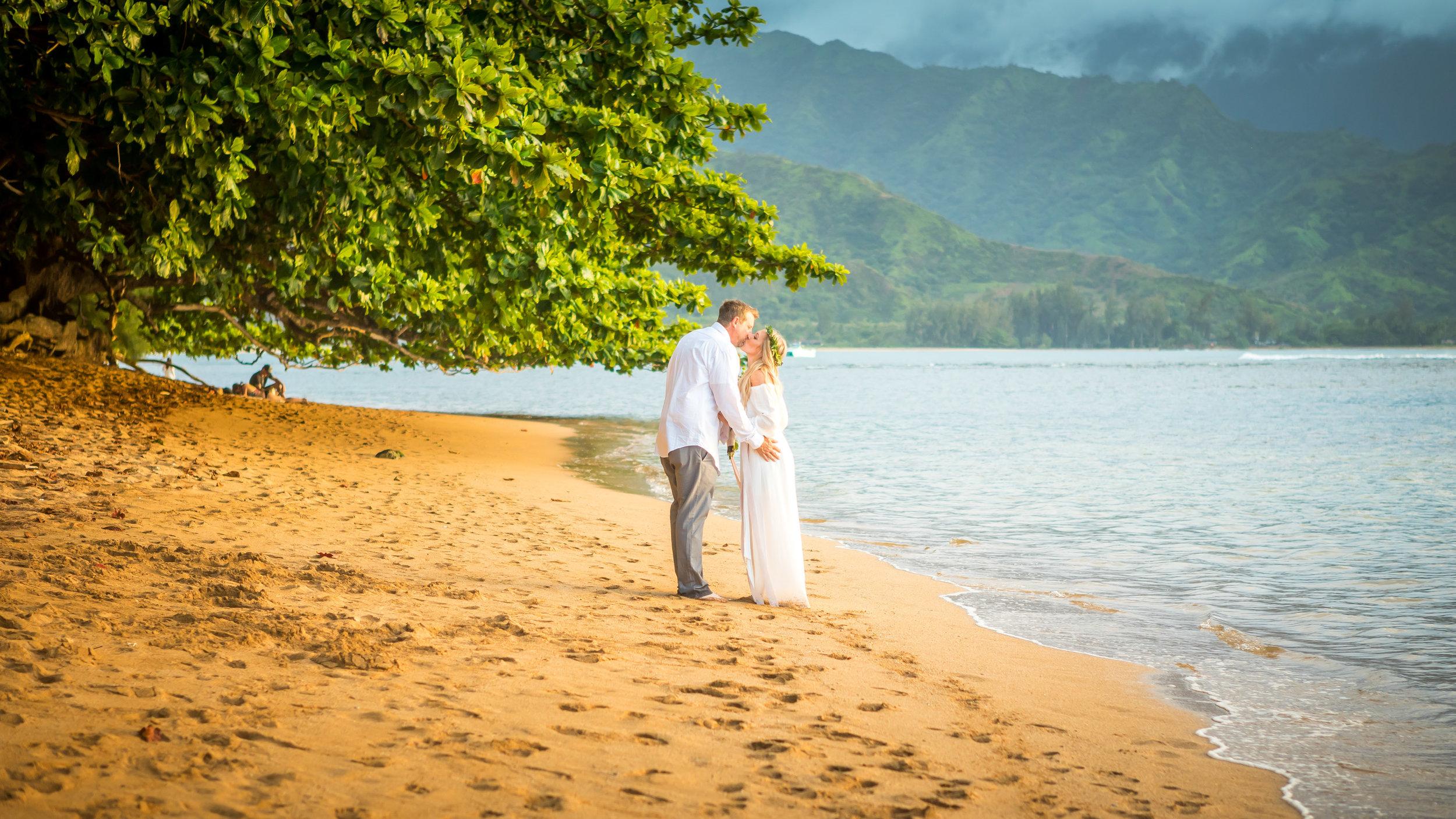 Kauai Beach Wedding Photograph-13