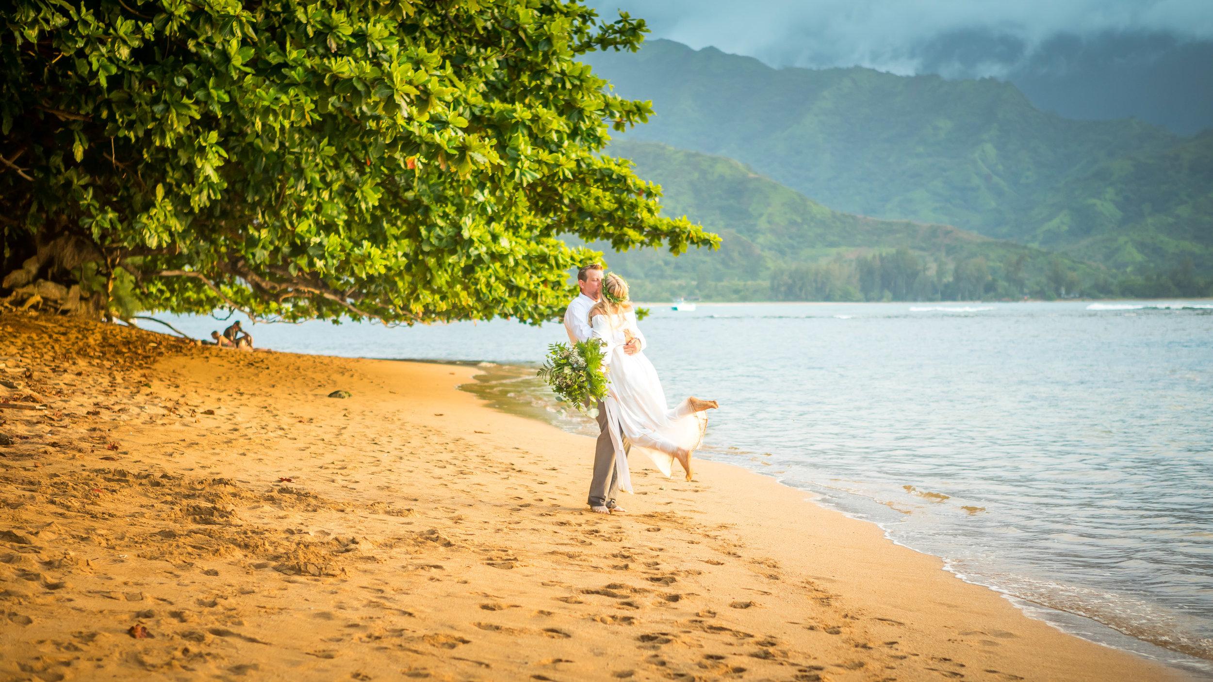 Kauai Beach Wedding Photograph-14