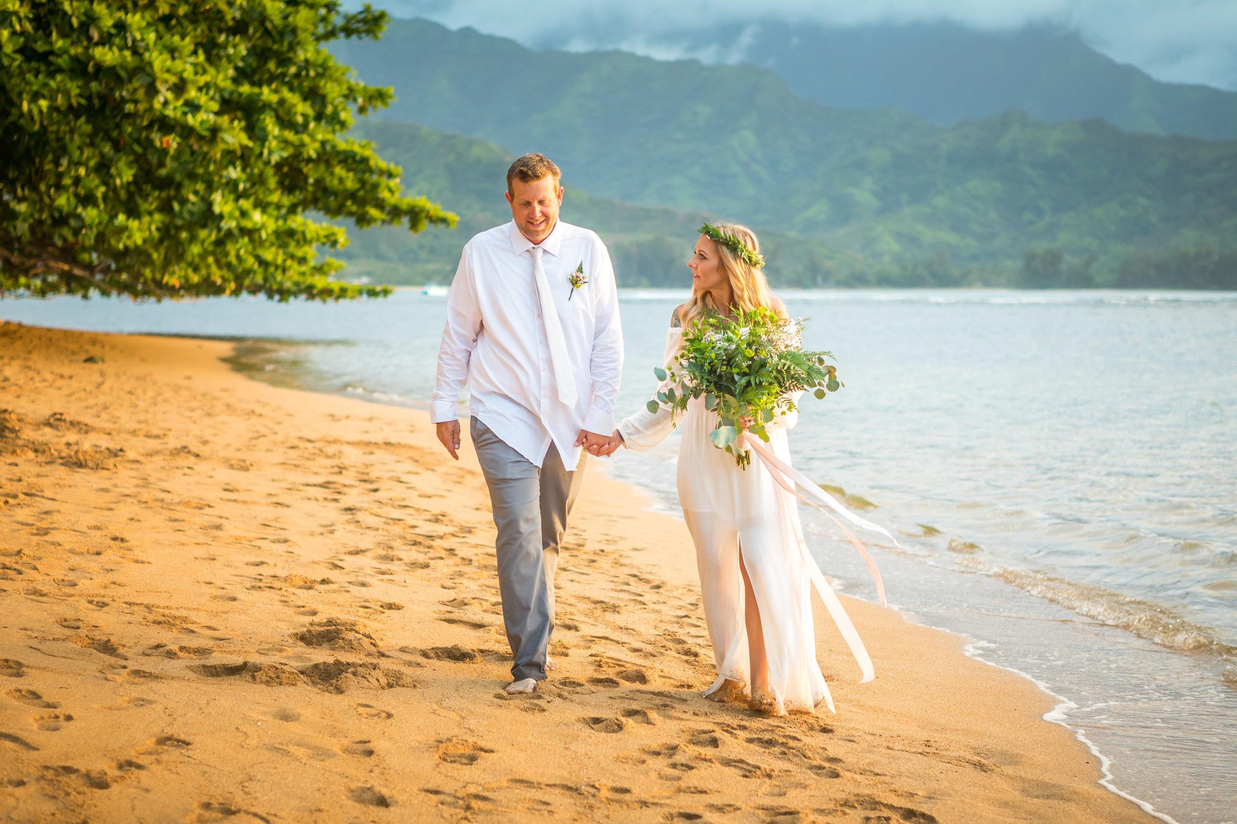 Kauai Beach Wedding Photograph-16