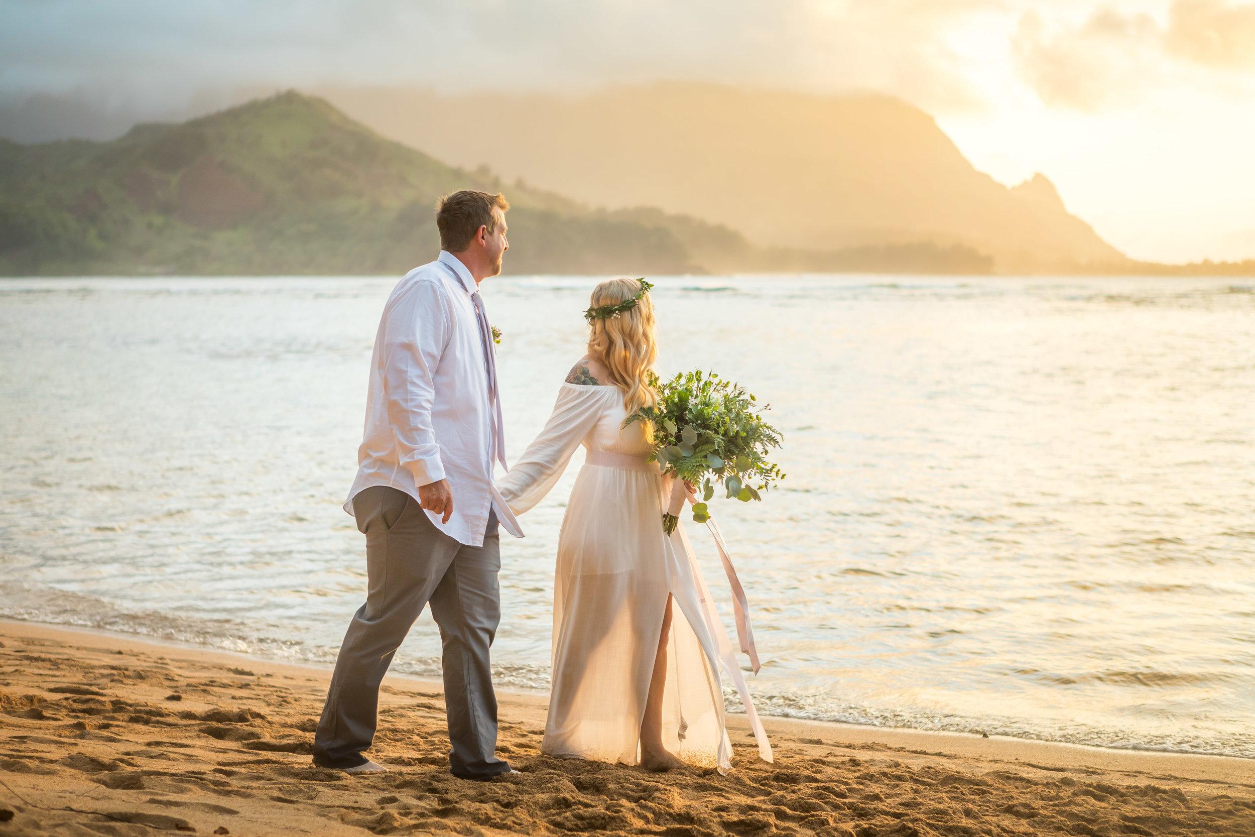 Kauai Beach Wedding Photograph-17