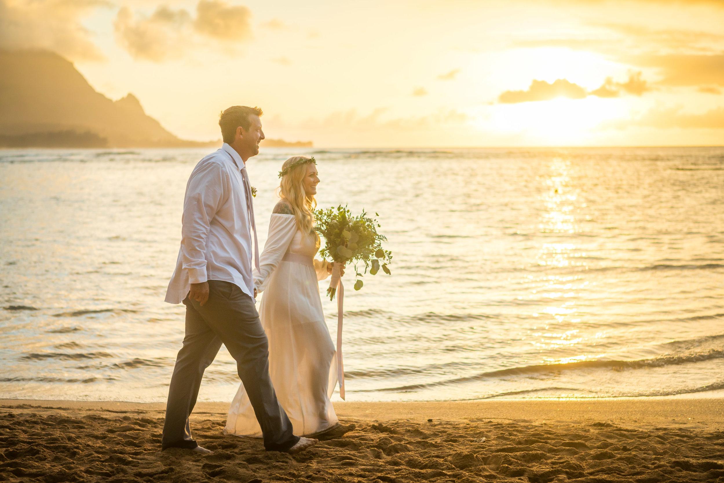 Kauai Beach Wedding Photograph-18