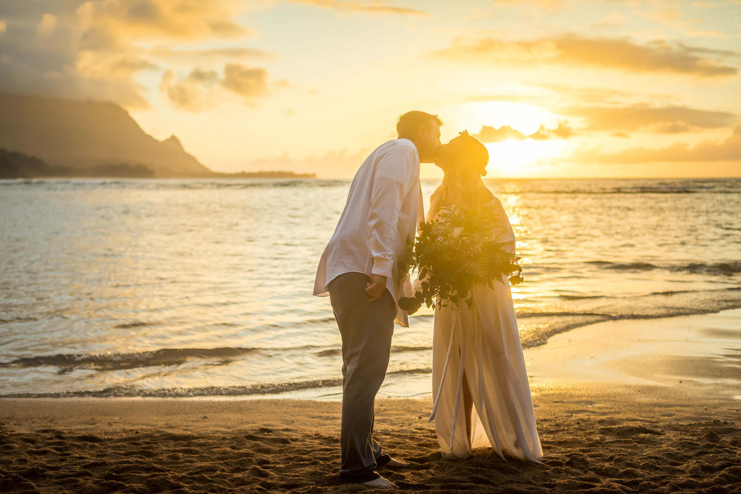 Kauai Beach Wedding Photograph-19