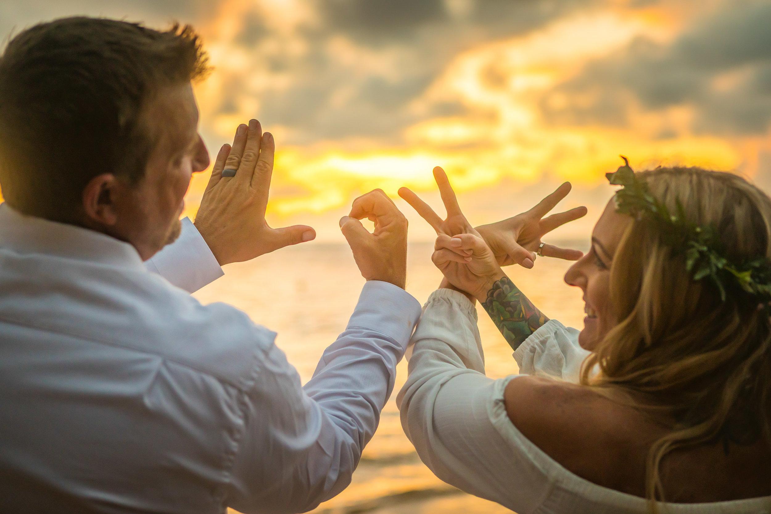 Kauai Beach Wedding Photograph-22