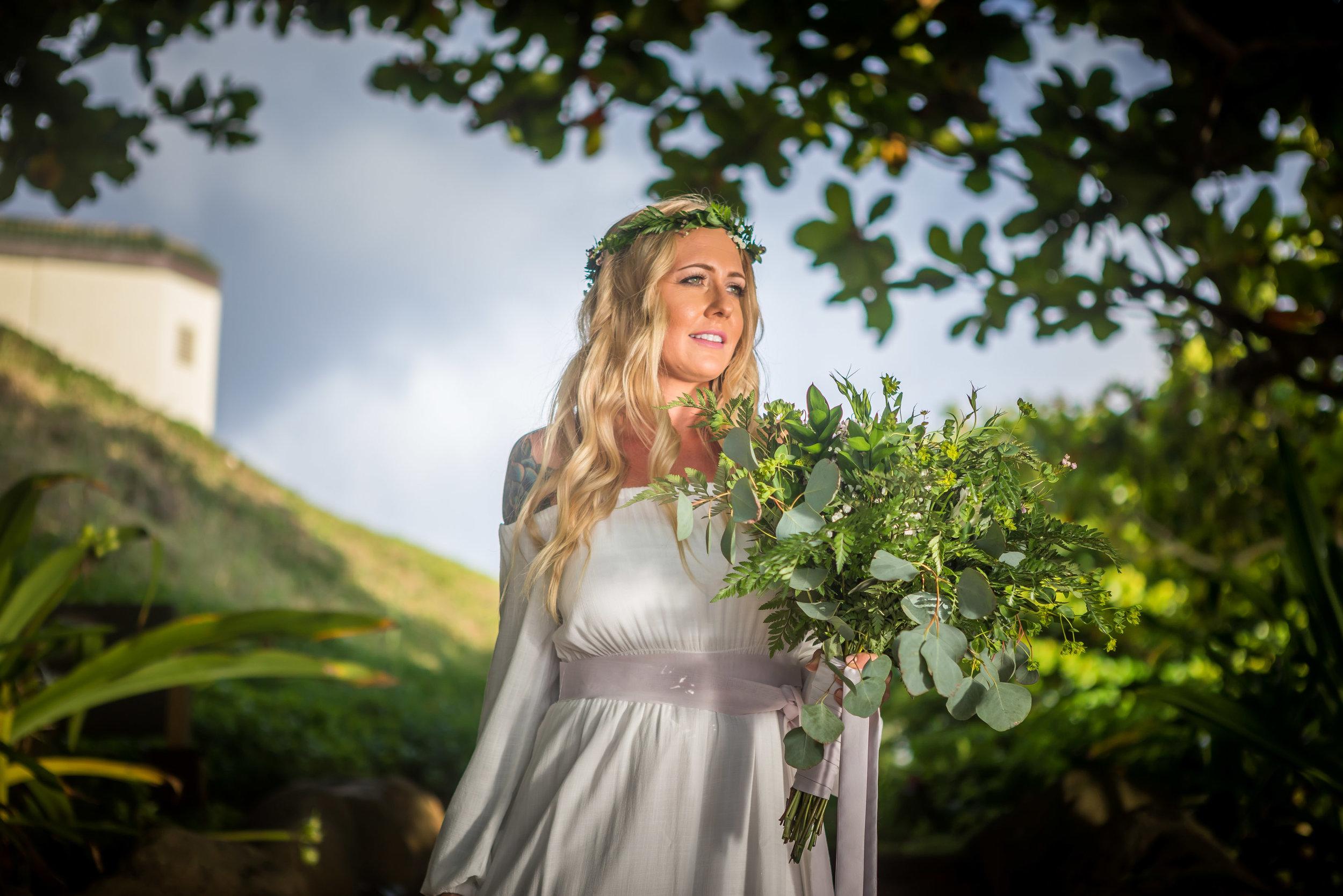 Kauai Beach Wedding Photograph-1