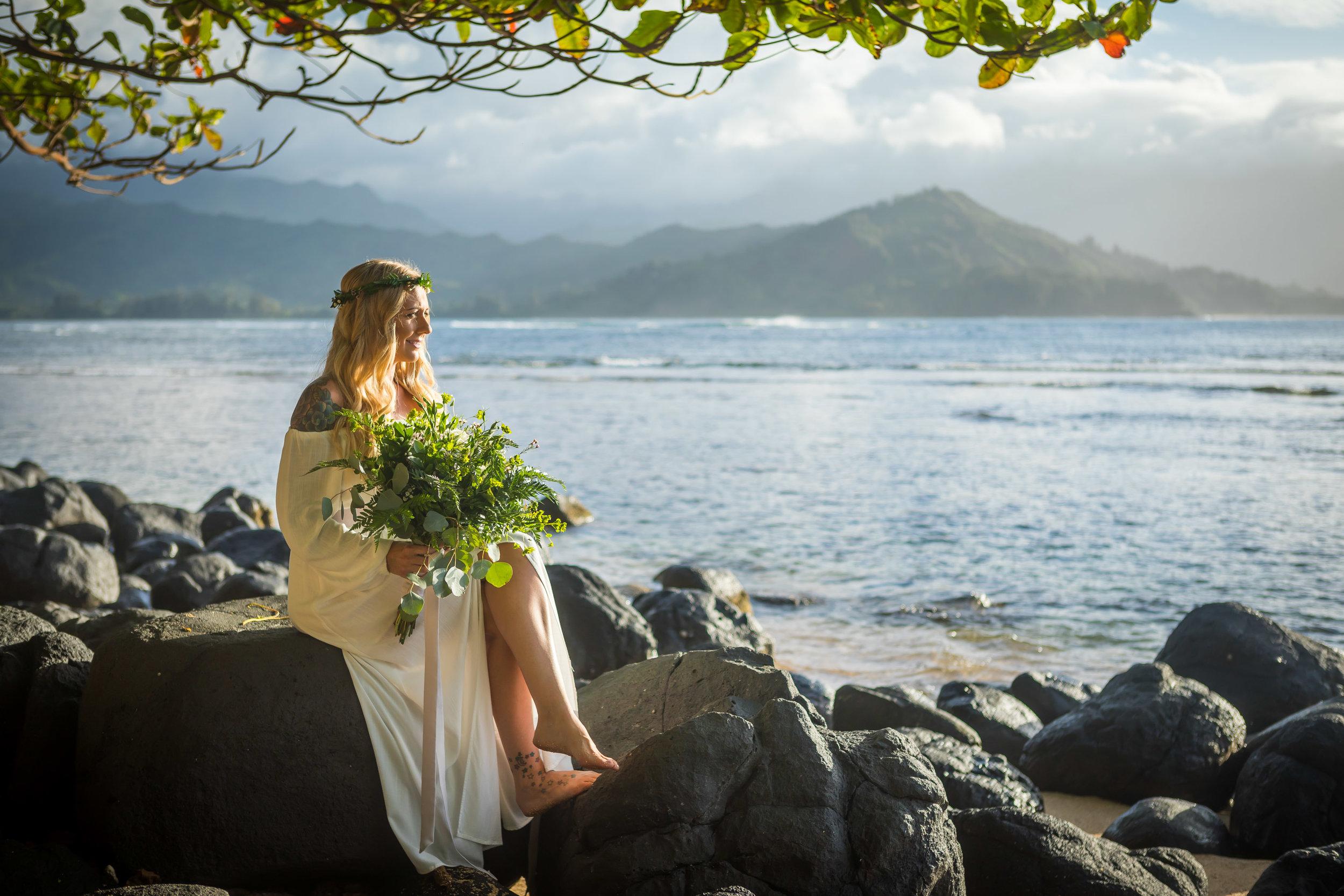 Kauai Beach Wedding Photograph-3