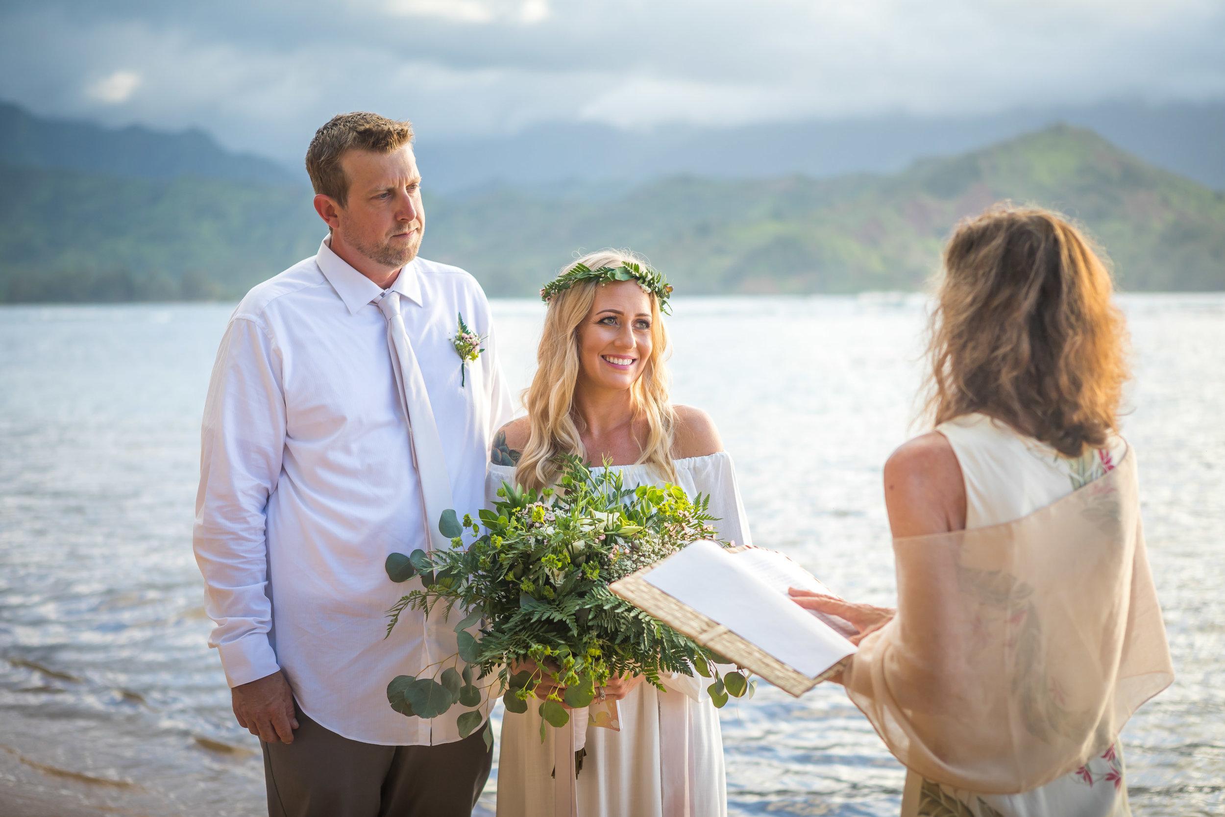 Kauai Beach Wedding Photograph-7