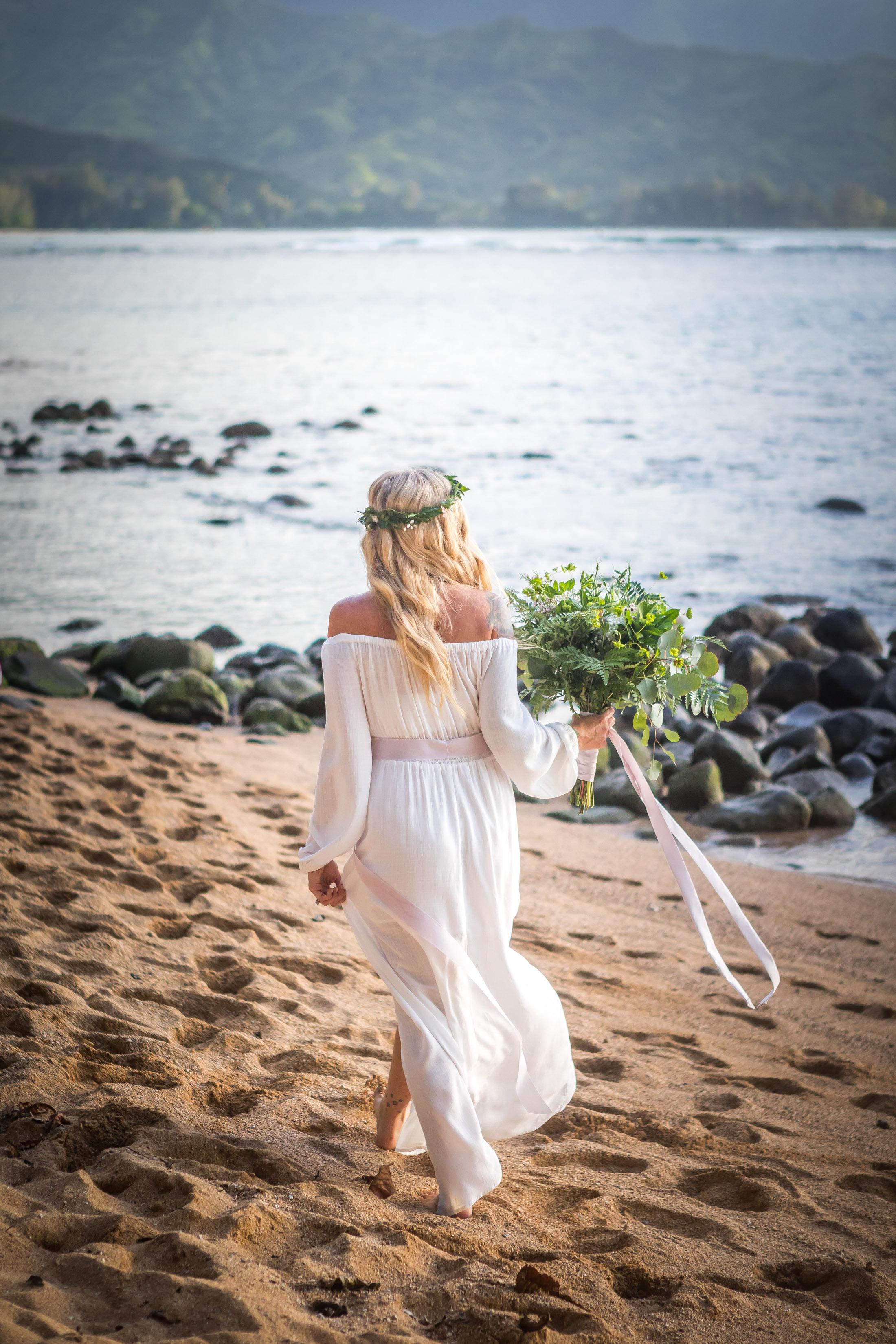 Kauai Beach Wedding Photograph-6