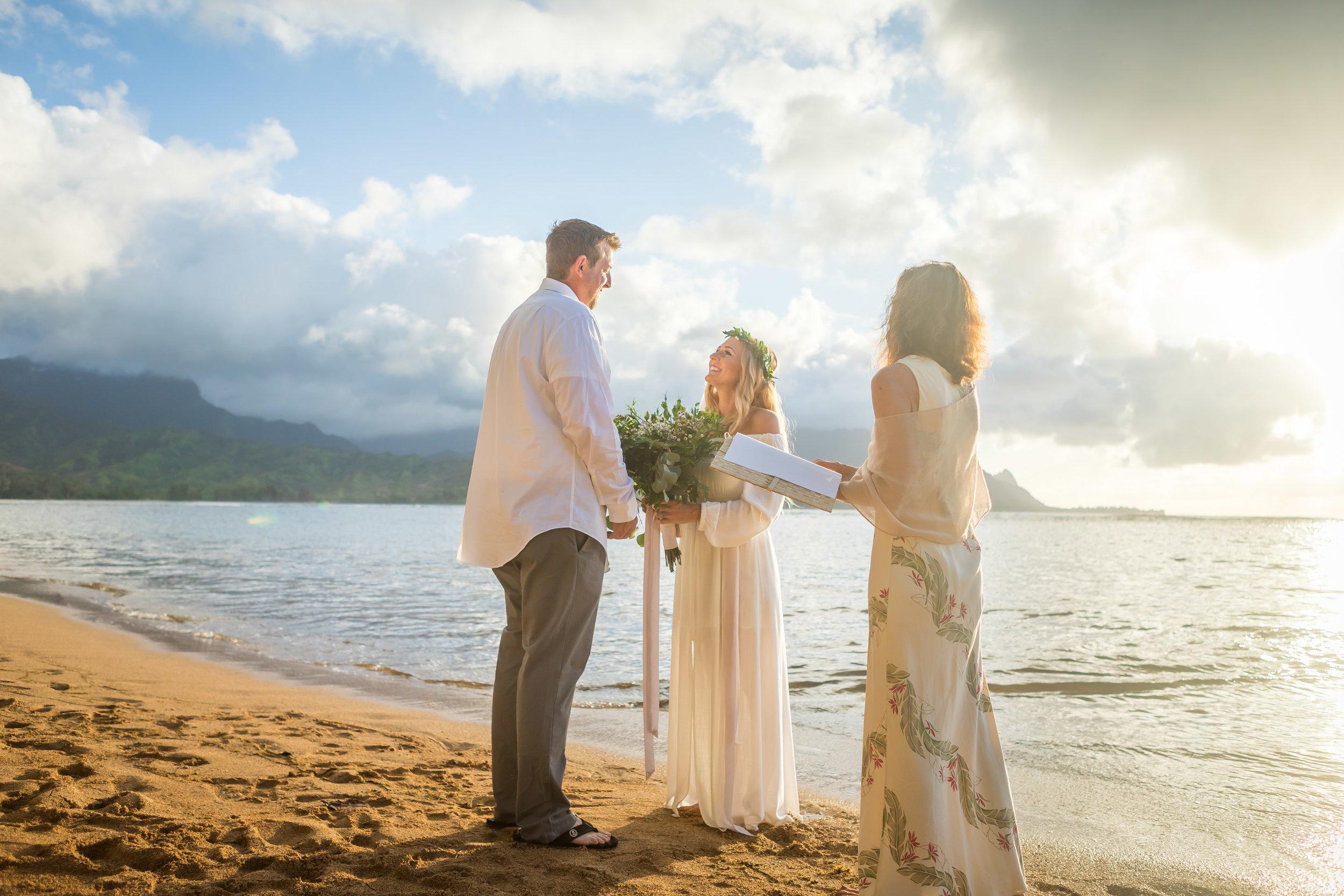 Kauai Beach Wedding Photograph-8