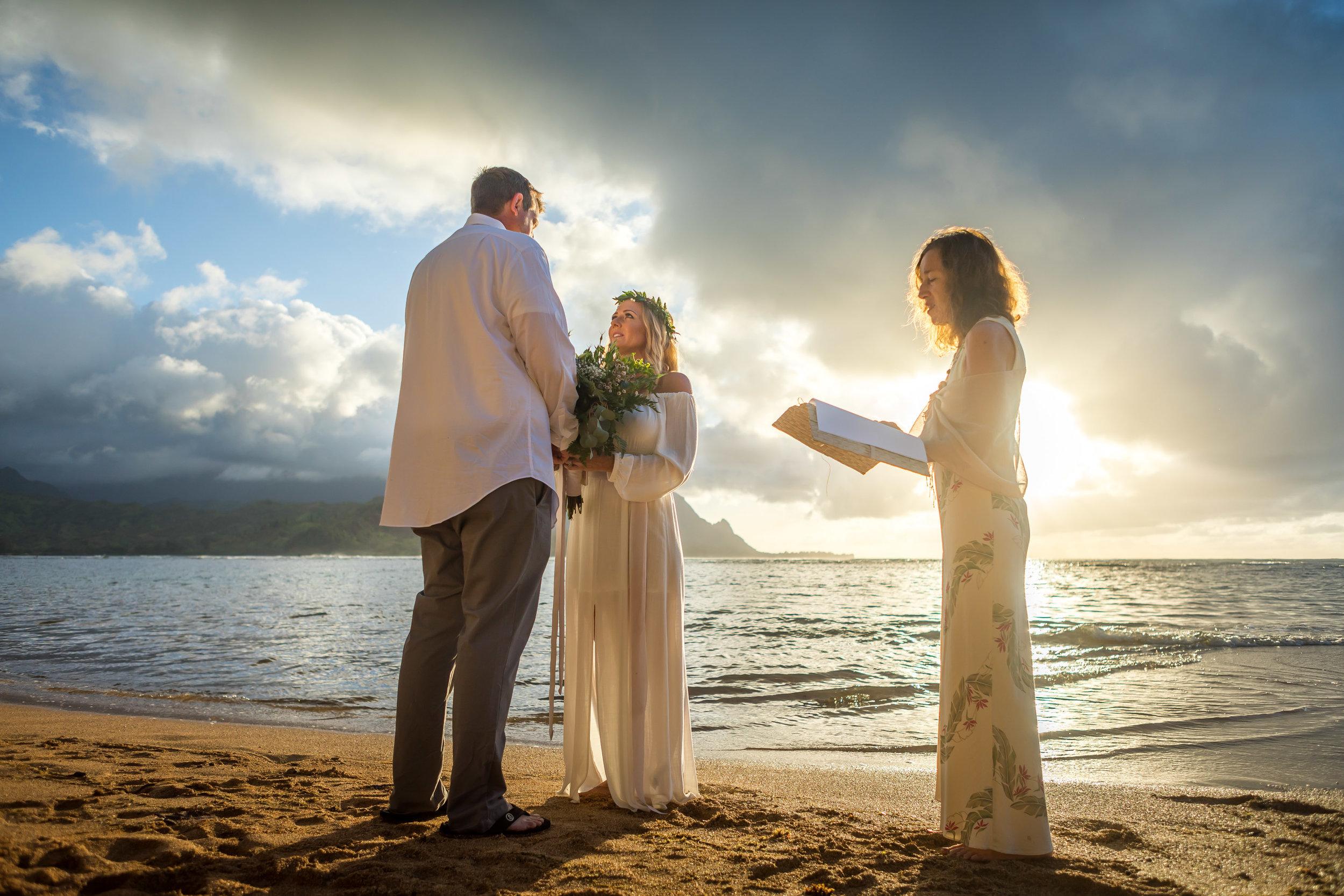 Kauai Beach Wedding Photograph-9