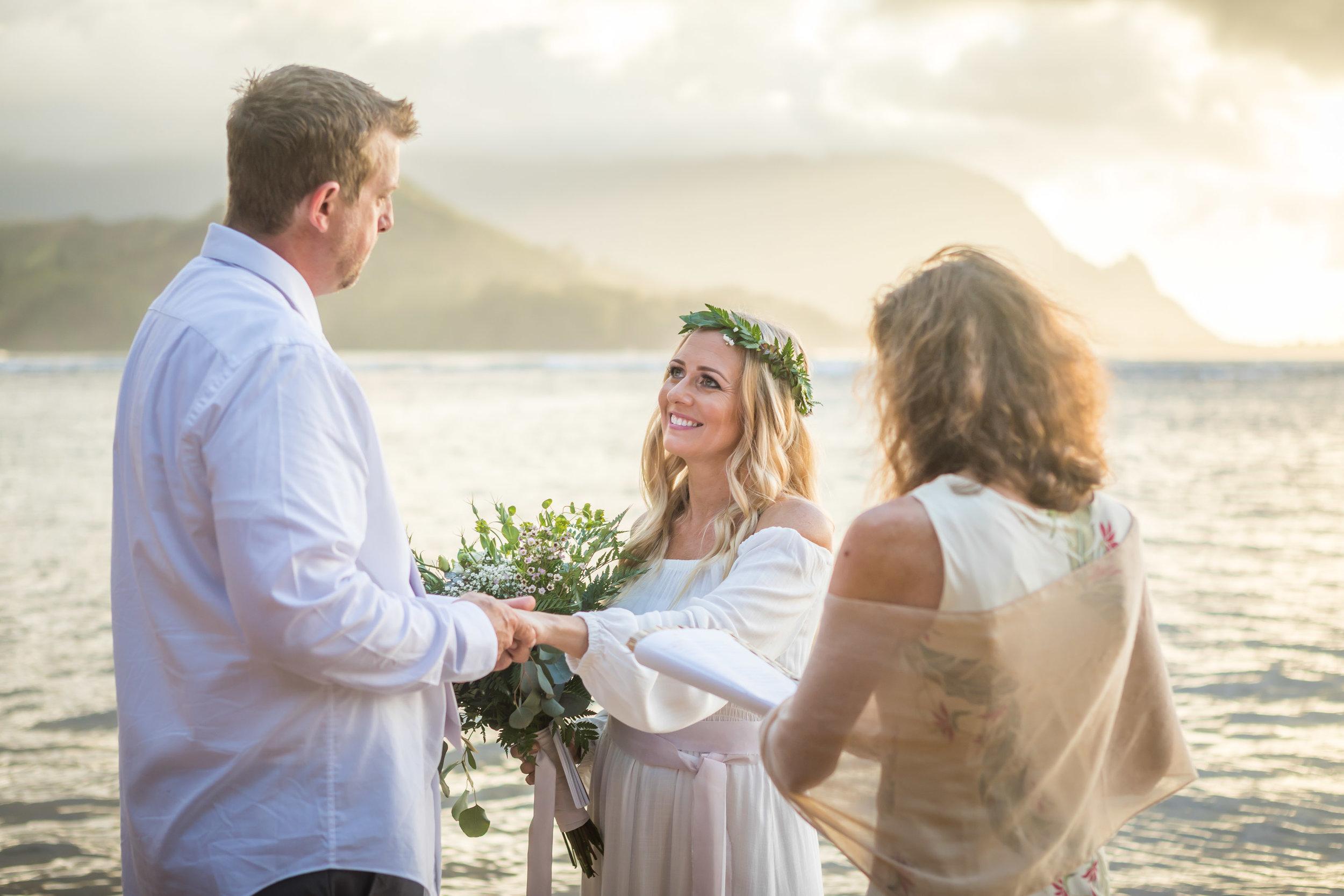 Kauai Beach Wedding Photograph-10