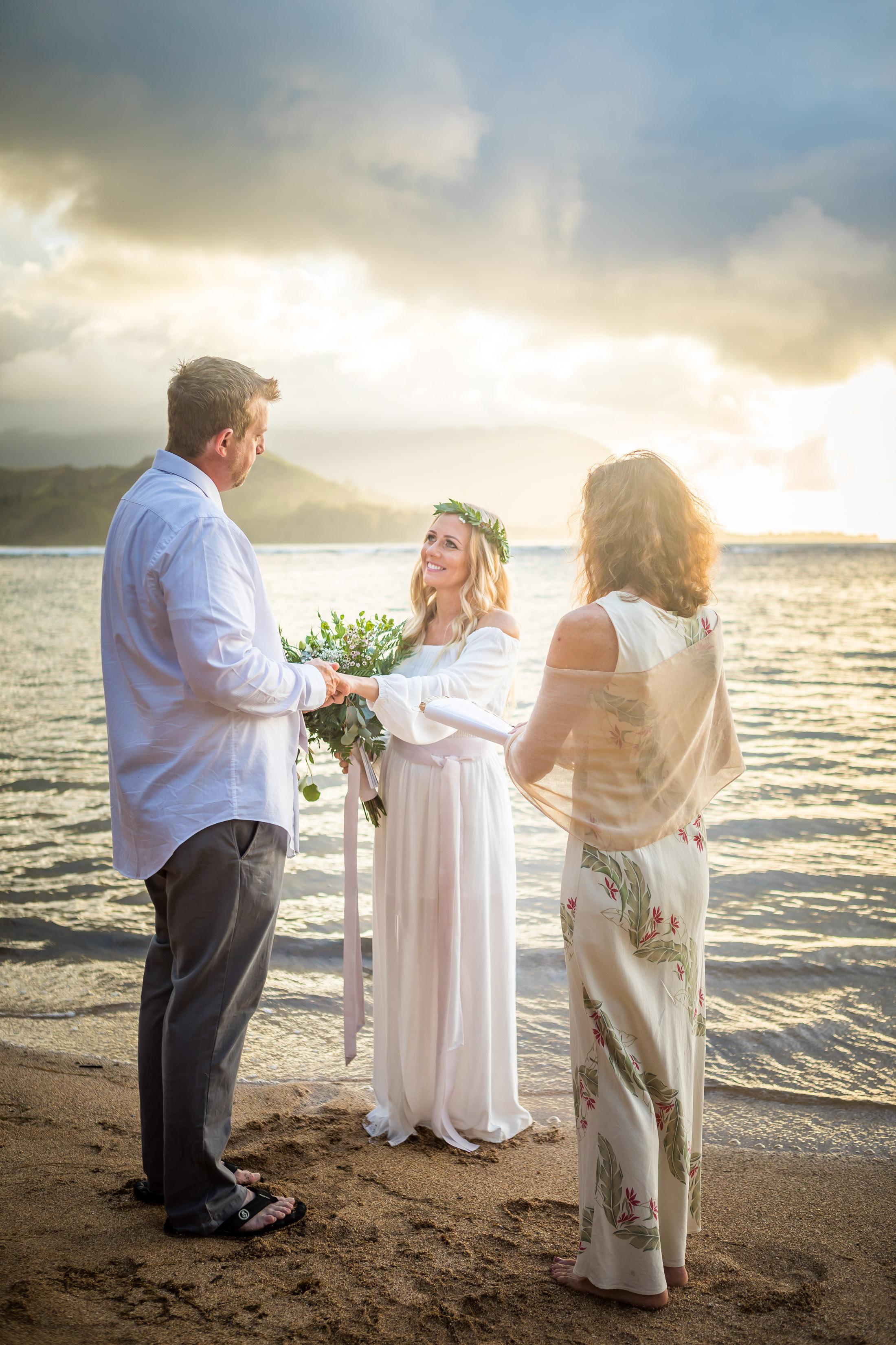 Kauai Beach Wedding Photograph-11