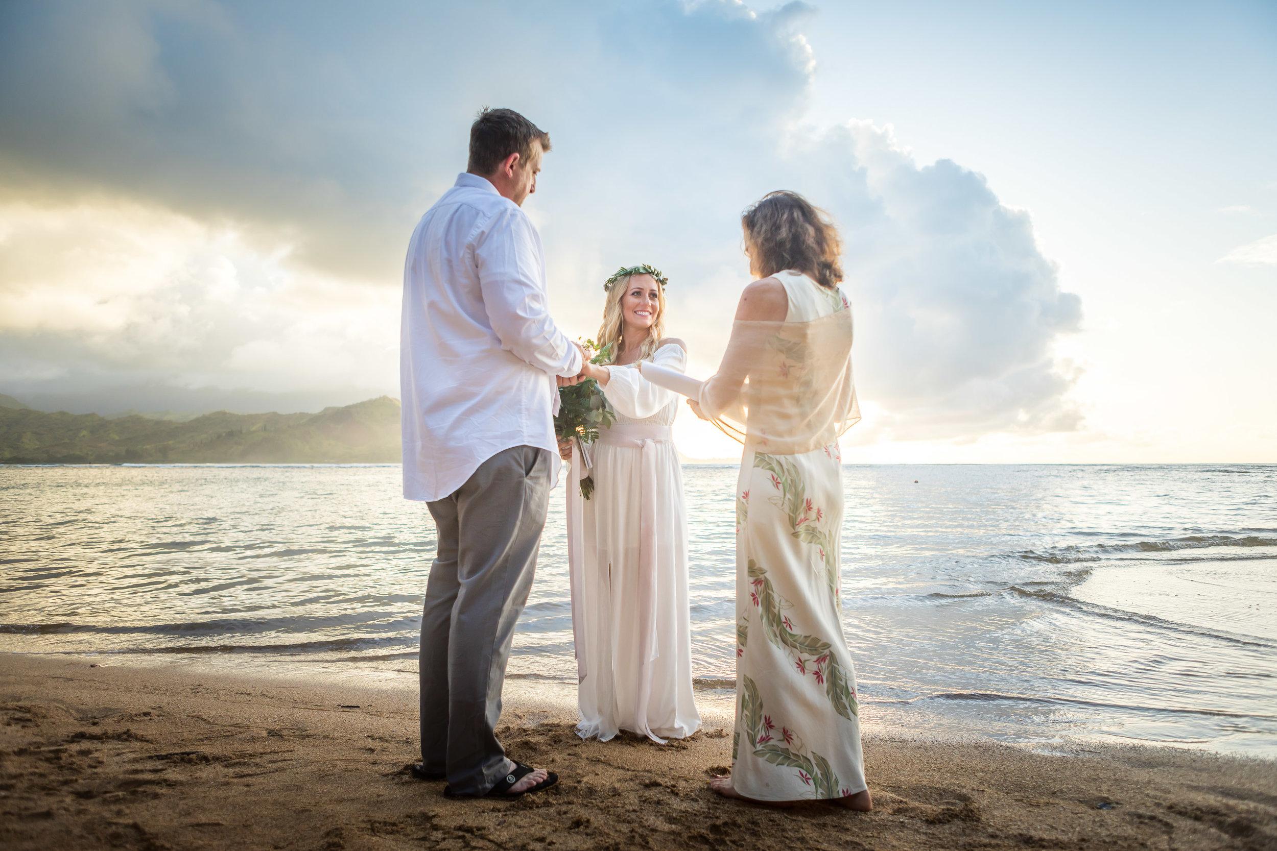 Kauai Beach Wedding Photograph-12