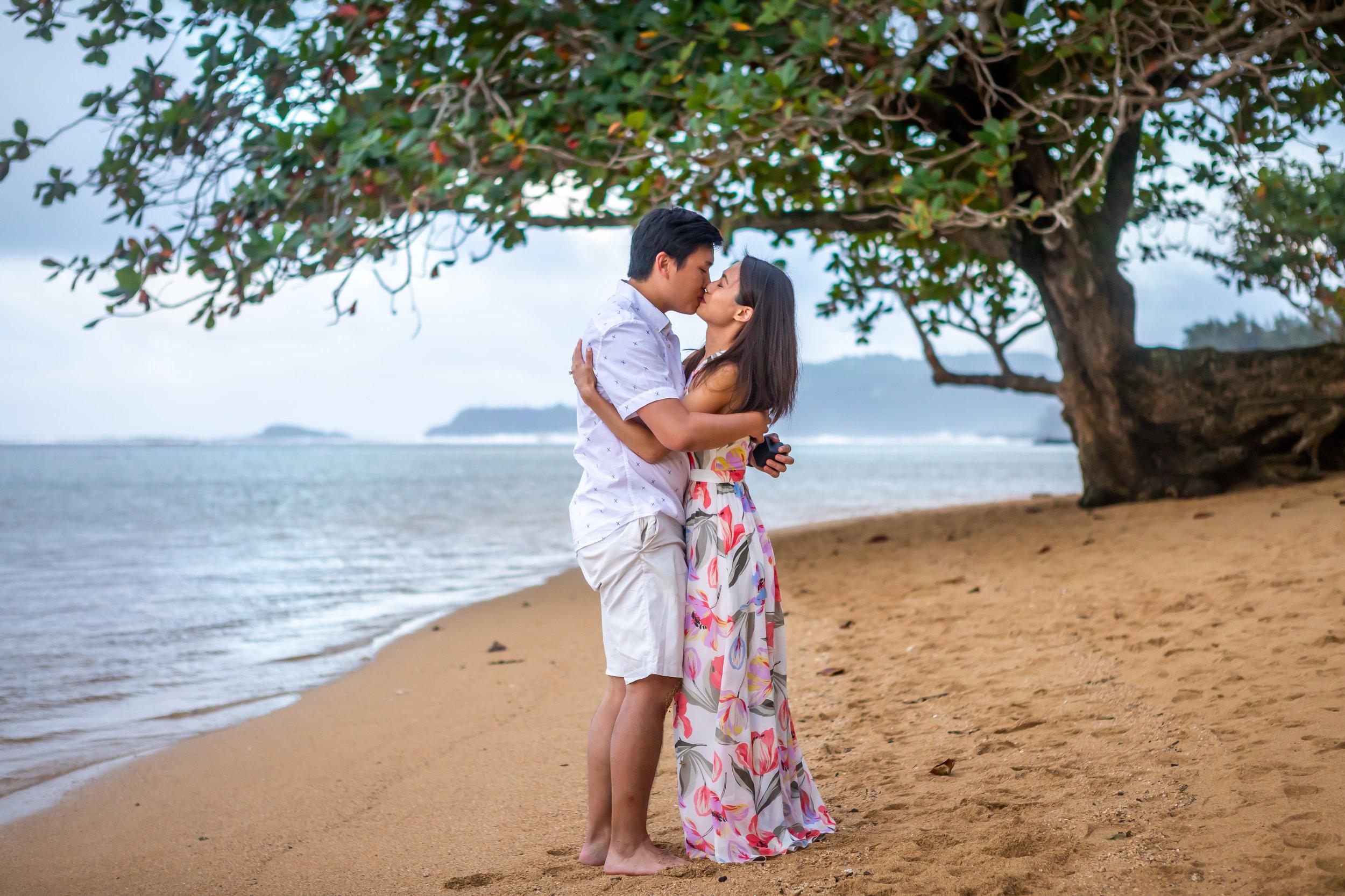 Kauai Surprise Engagement Photo 20
