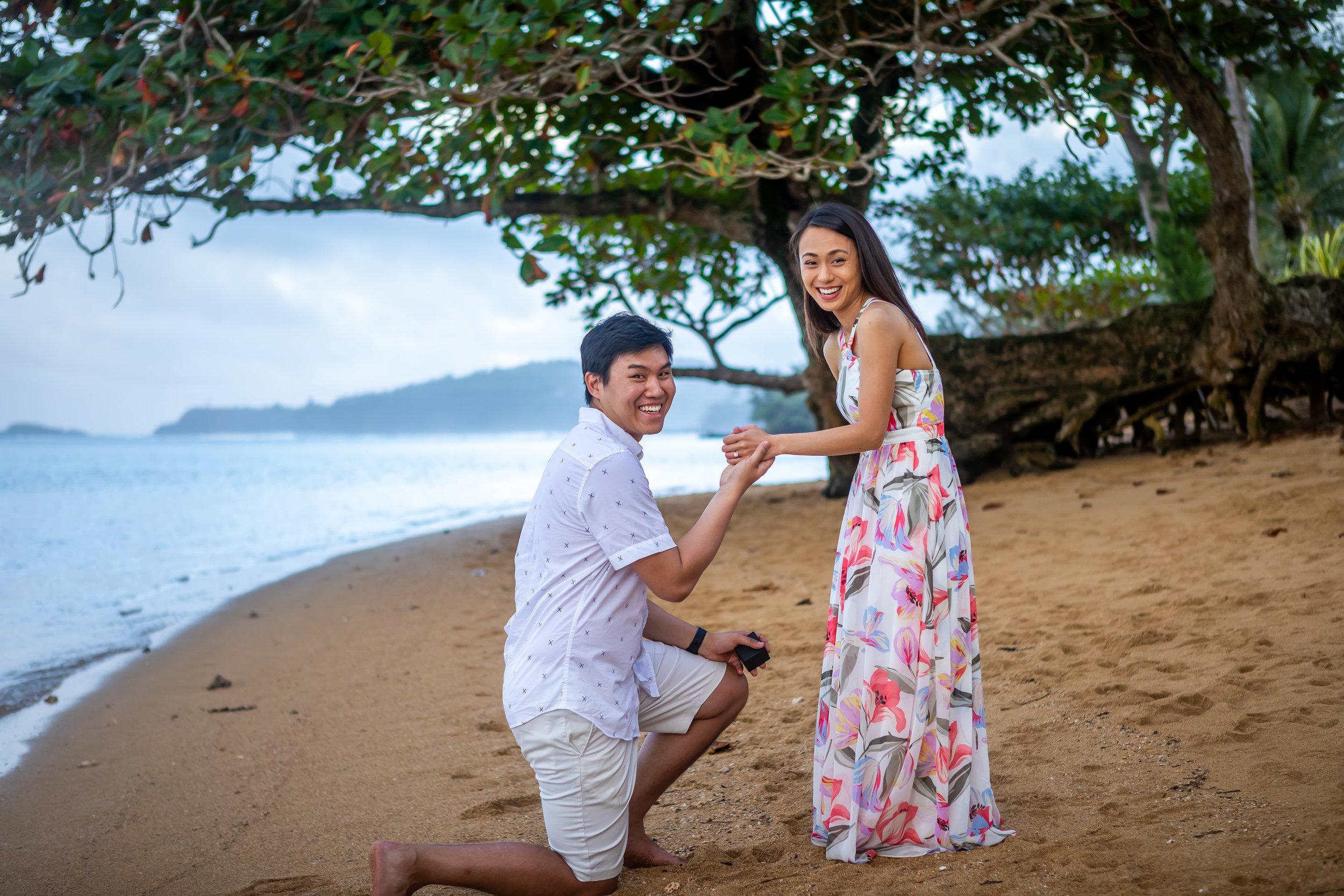 Kauai Surprise Engagement Photo 22