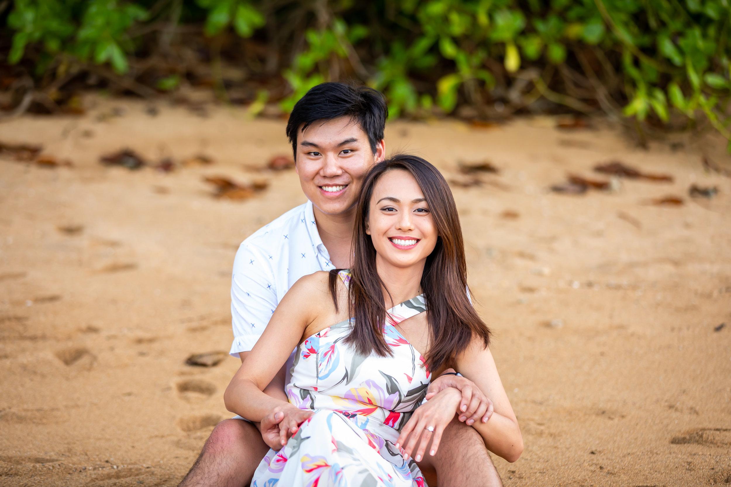Kauai Surprise Engagement Photo 25