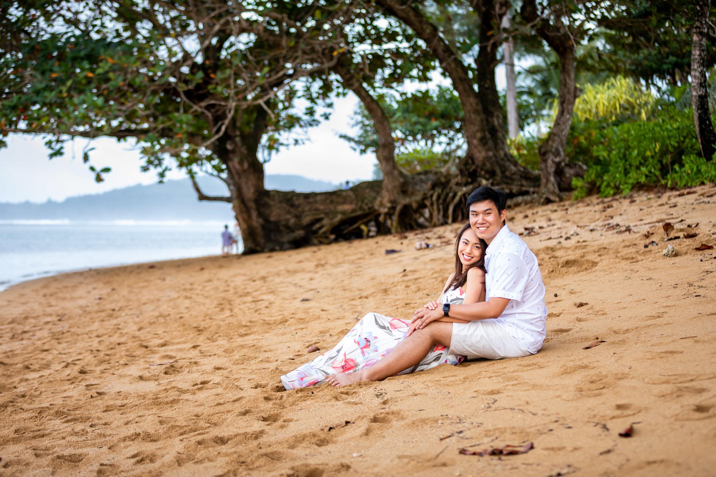 Kauai Surprise Engagement Photo 26