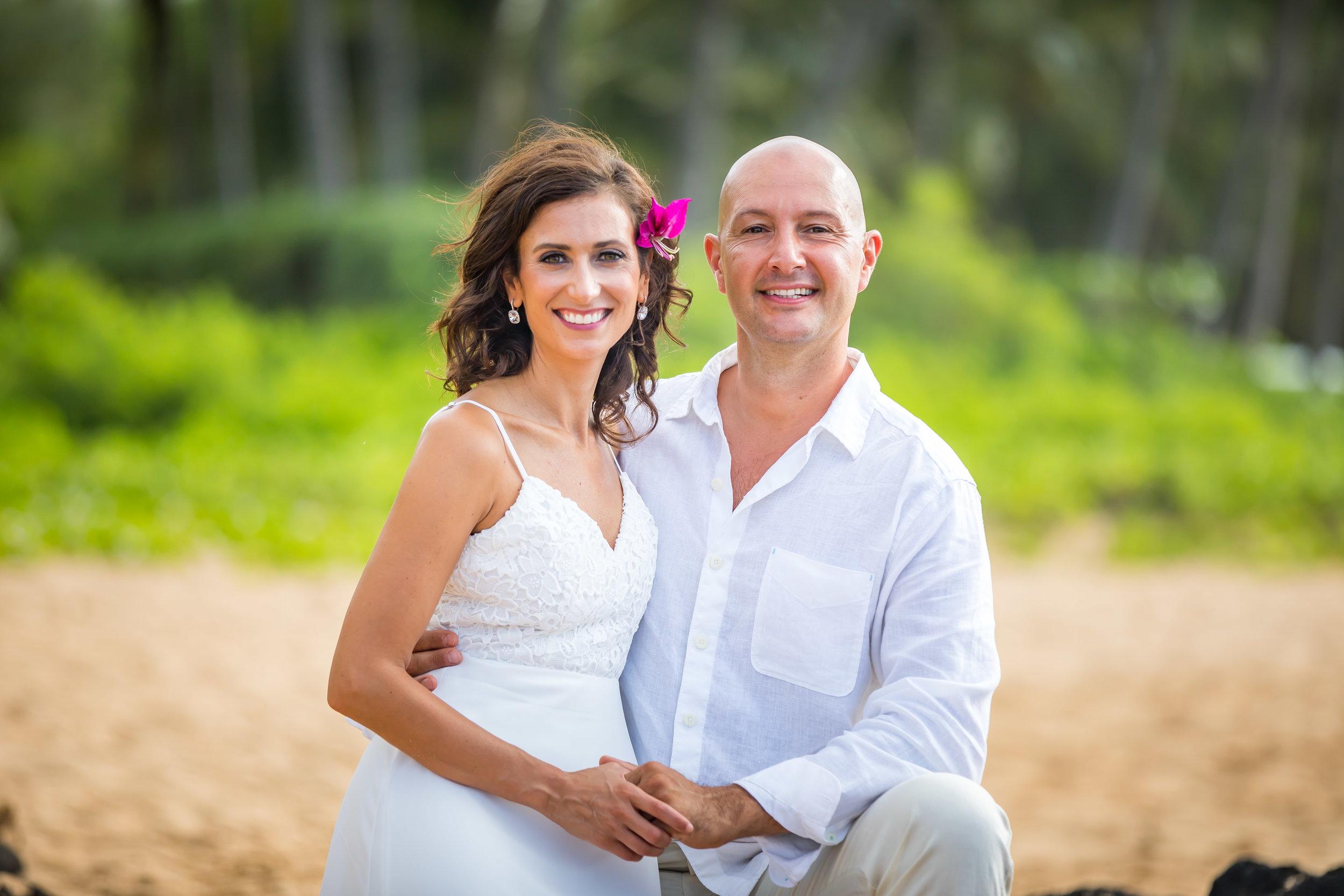 Kauai Beach Wedding Photograph-48