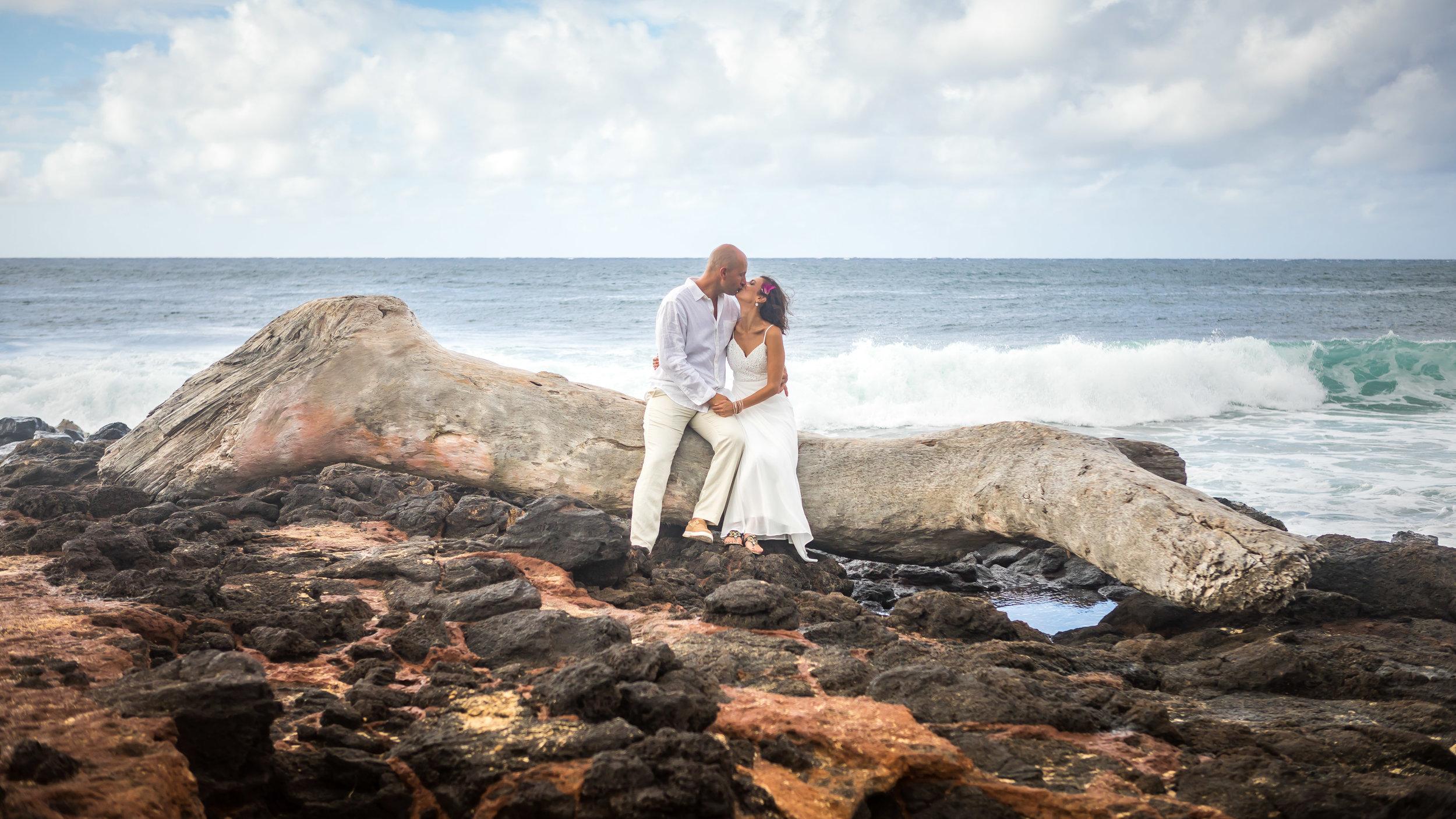 Kauai Beach Wedding Photograph-45