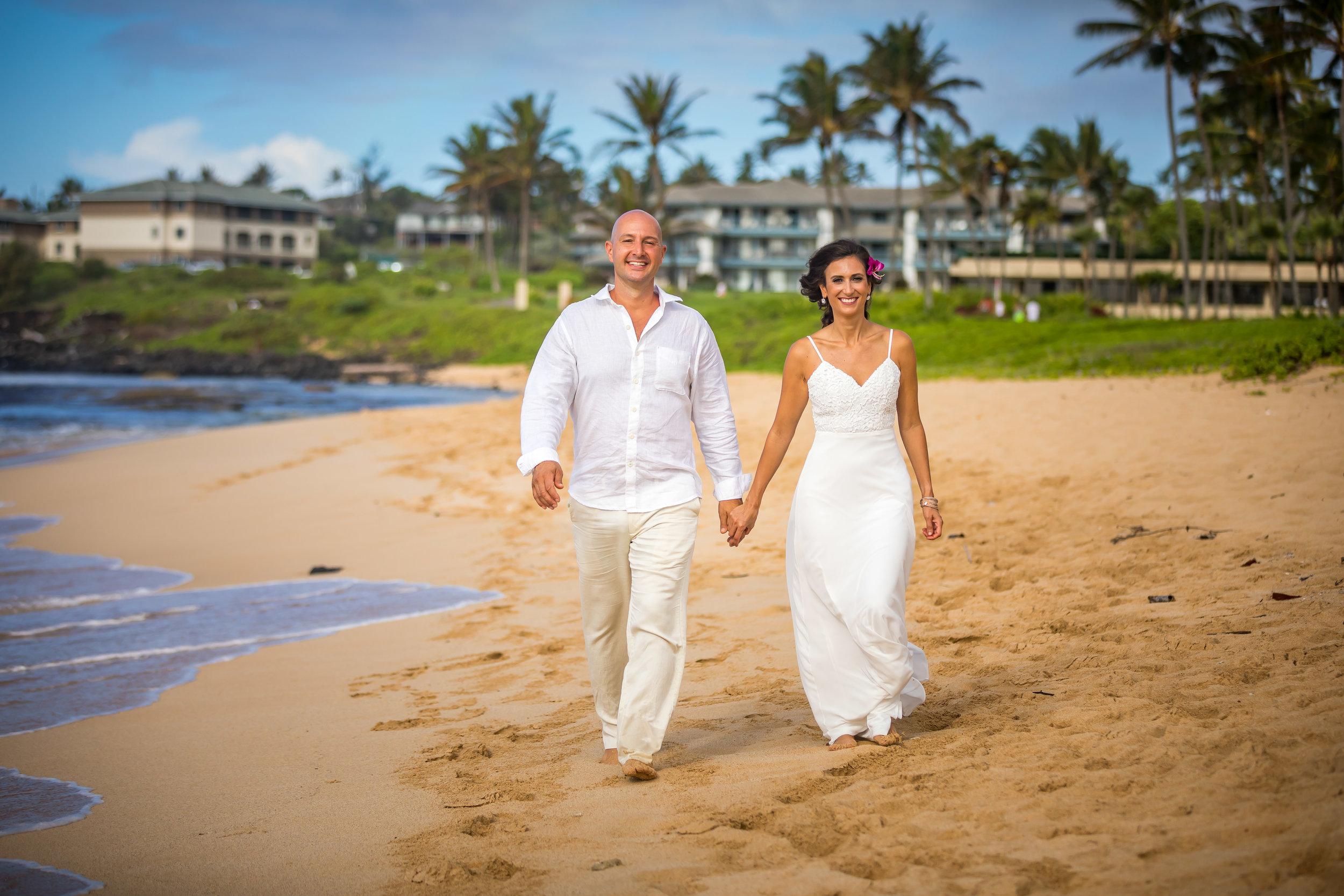 Kauai Beach Wedding Photograph-46