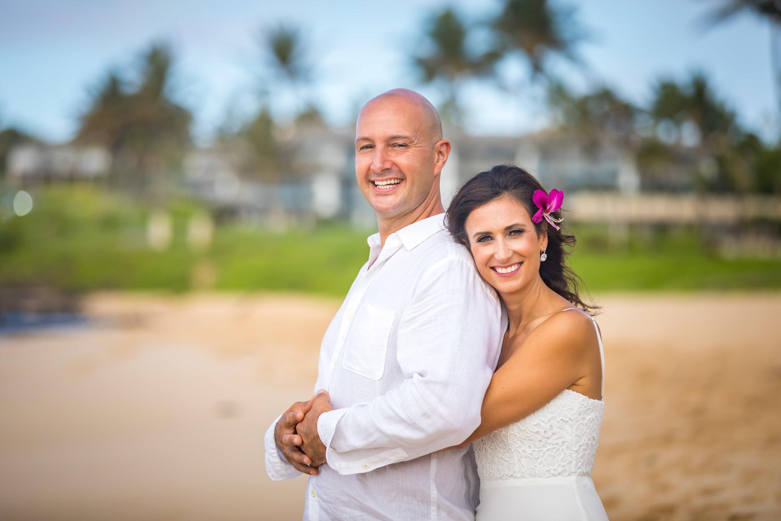 Kauai Beach Wedding Photograph-51