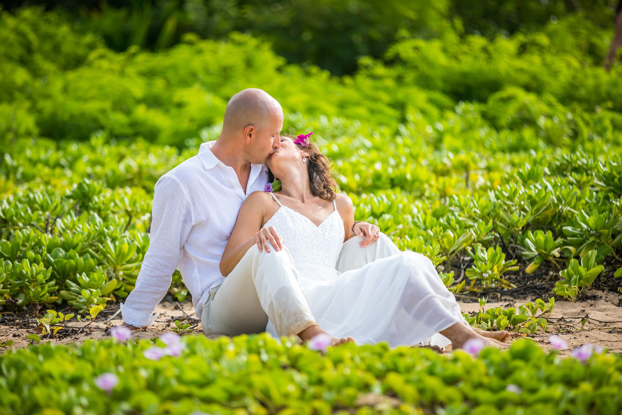 Kauai Beach Wedding Photograph-50