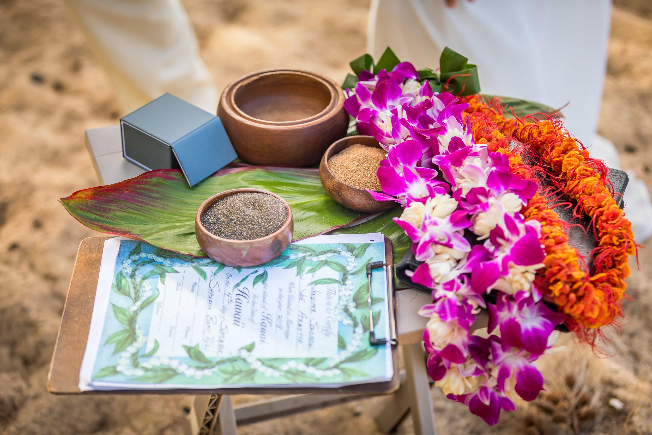 Kauai Beach Wedding Photograph-55