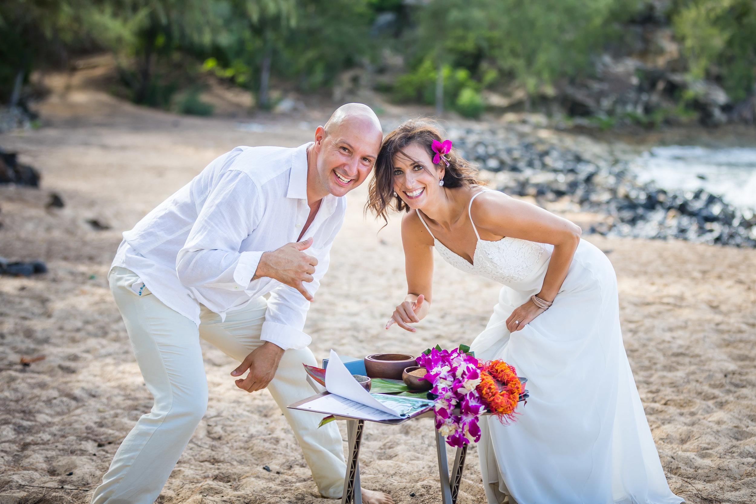 Kauai Beach Wedding Photograph-56