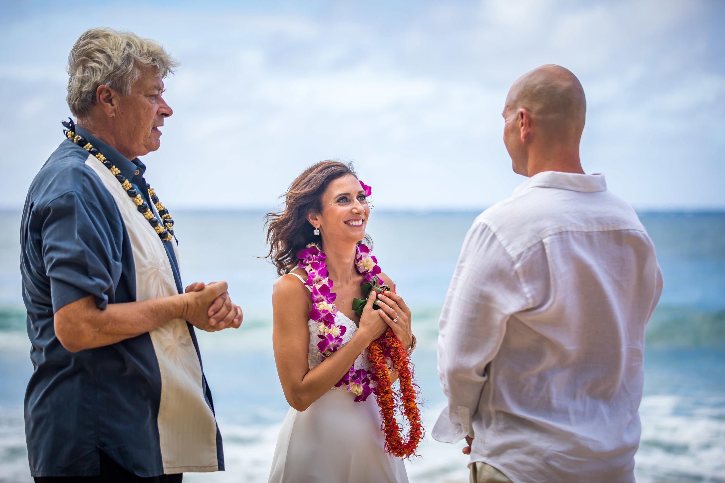 Kauai Beach Wedding Photograph-61