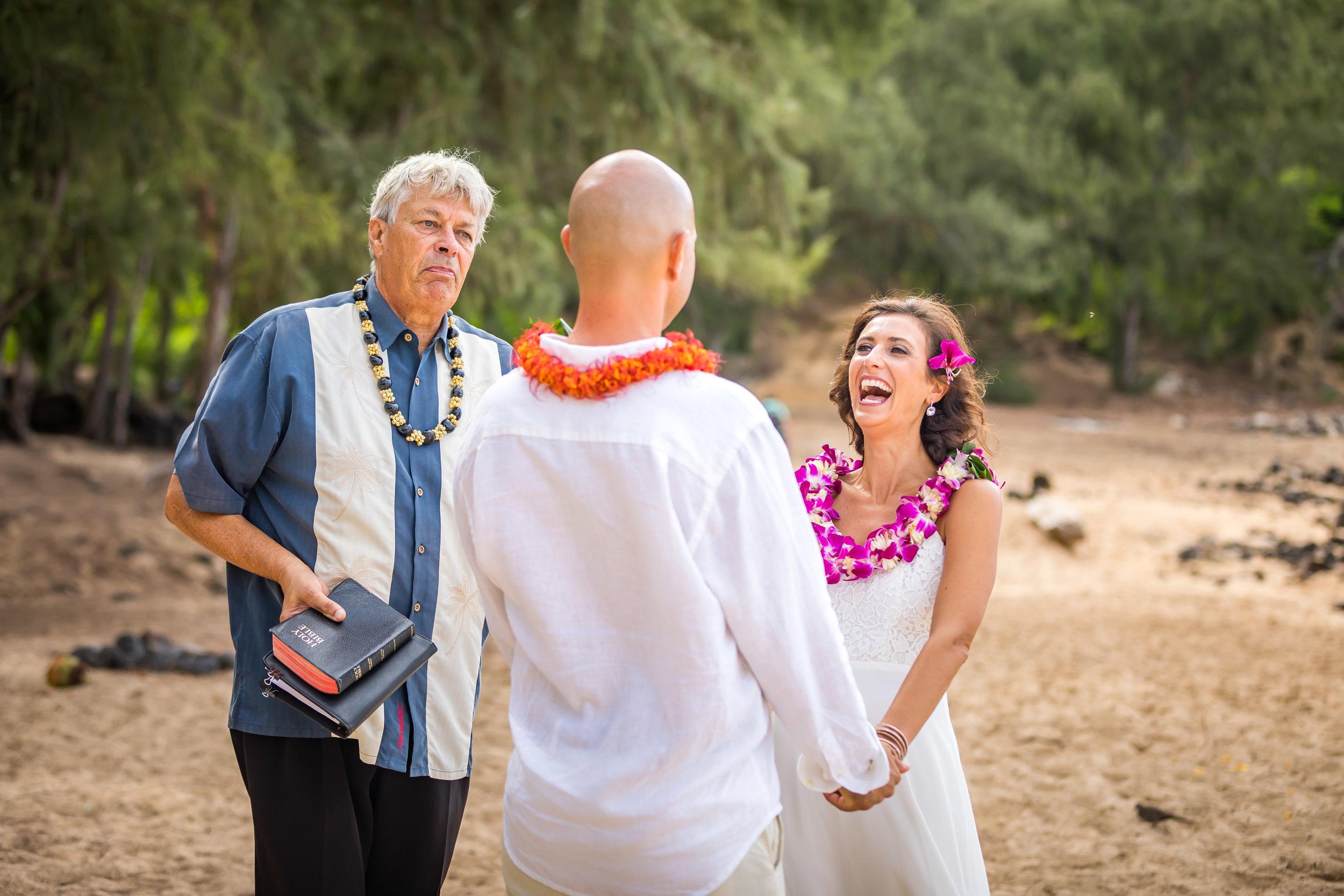 Kauai Beach Wedding Photograph-60