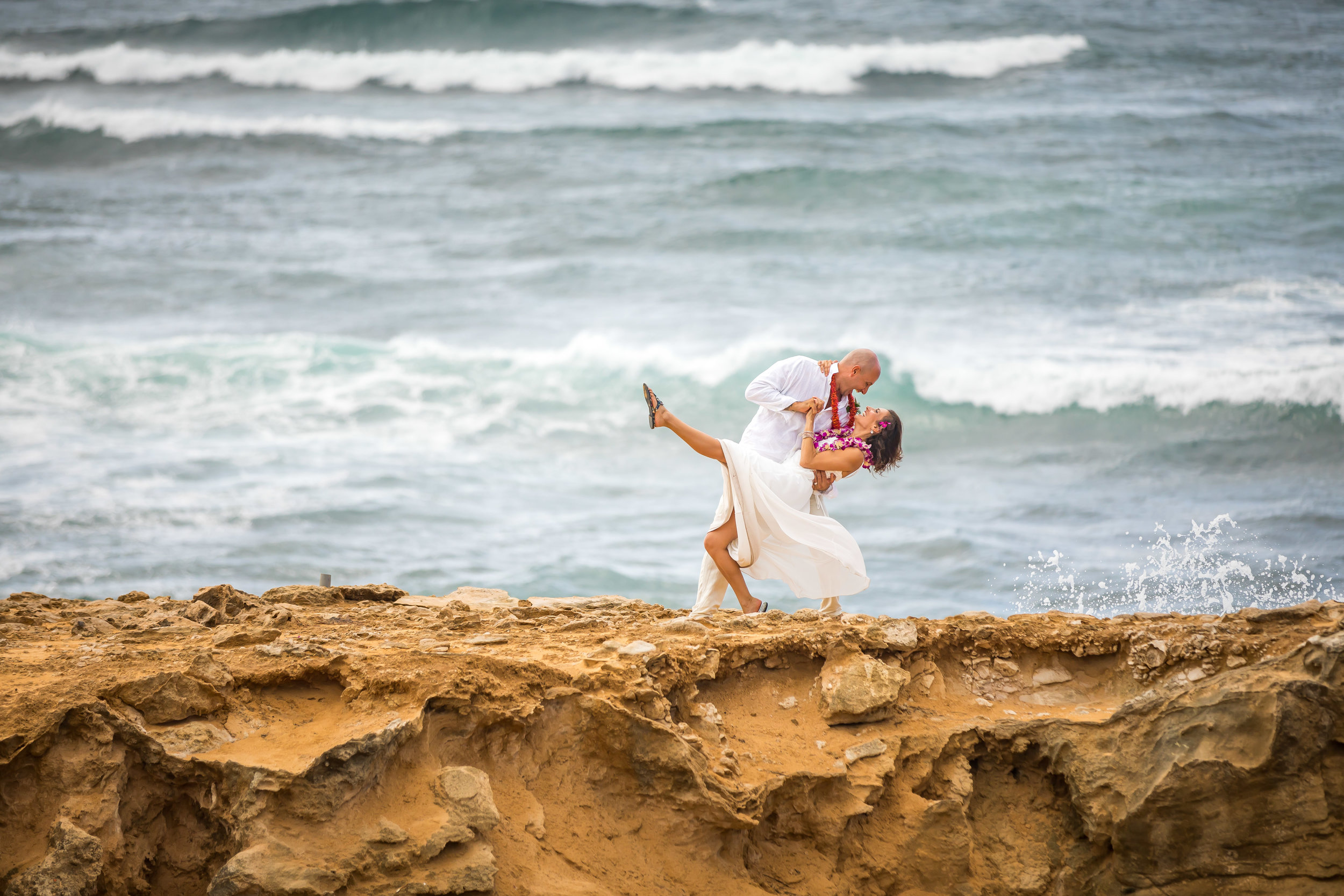 Kauai Beach Wedding Photograph-67