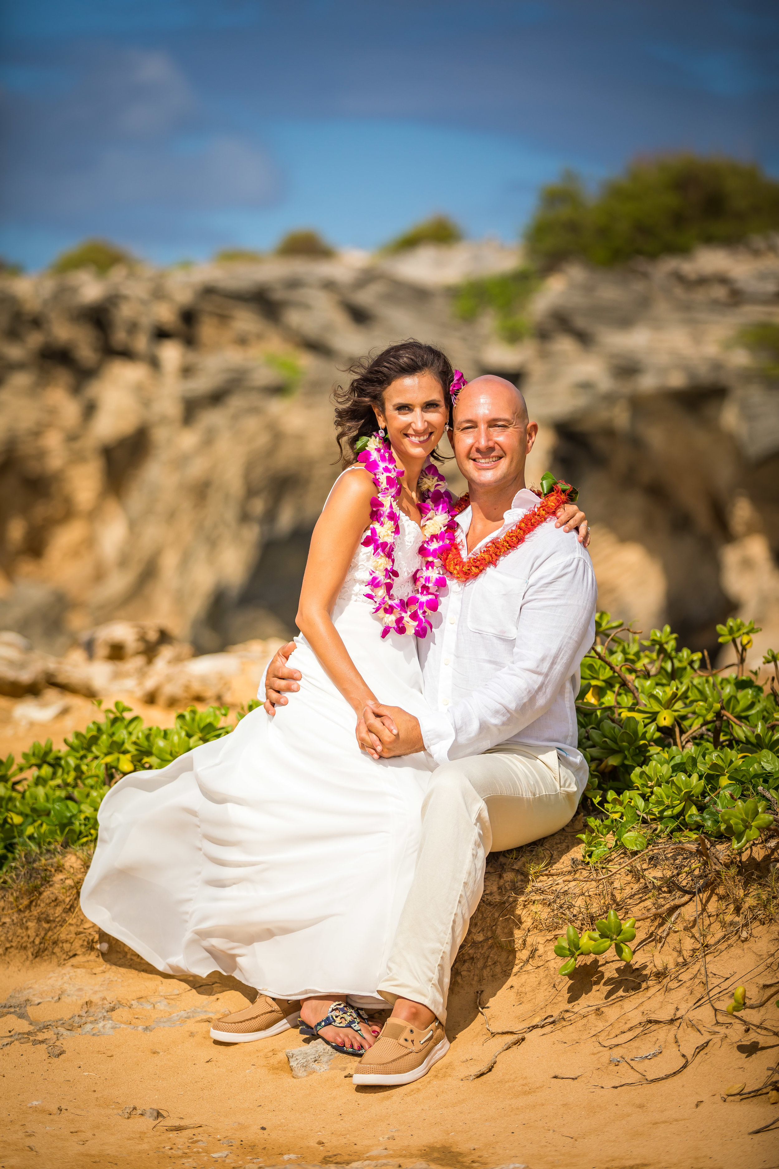 Kauai Beach Wedding Photograph-69