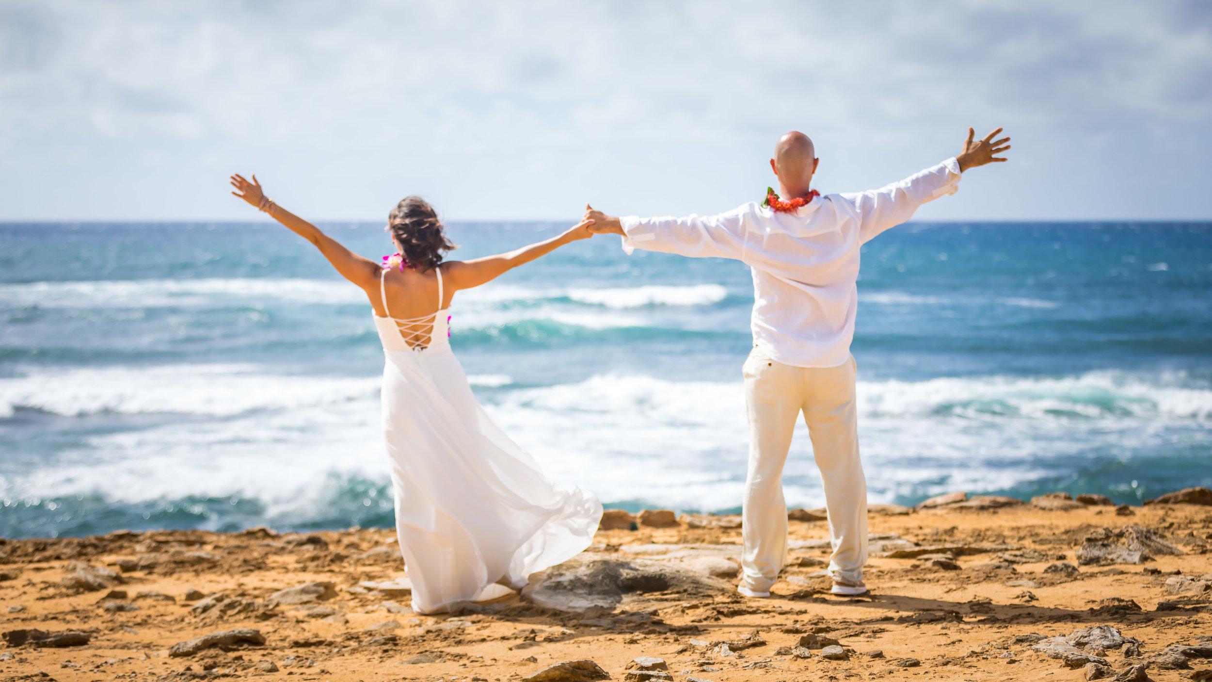 Kauai Beach Wedding Photograph-70
