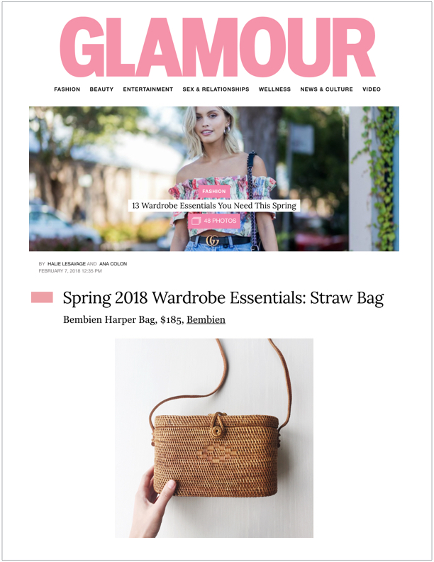 Glamour , February 7, 2018 13 Wardrobe Essentials You Need This Spring