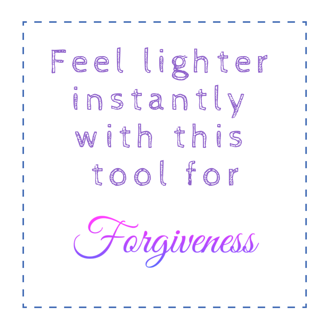 Happiness Depends Forgiveness Tool