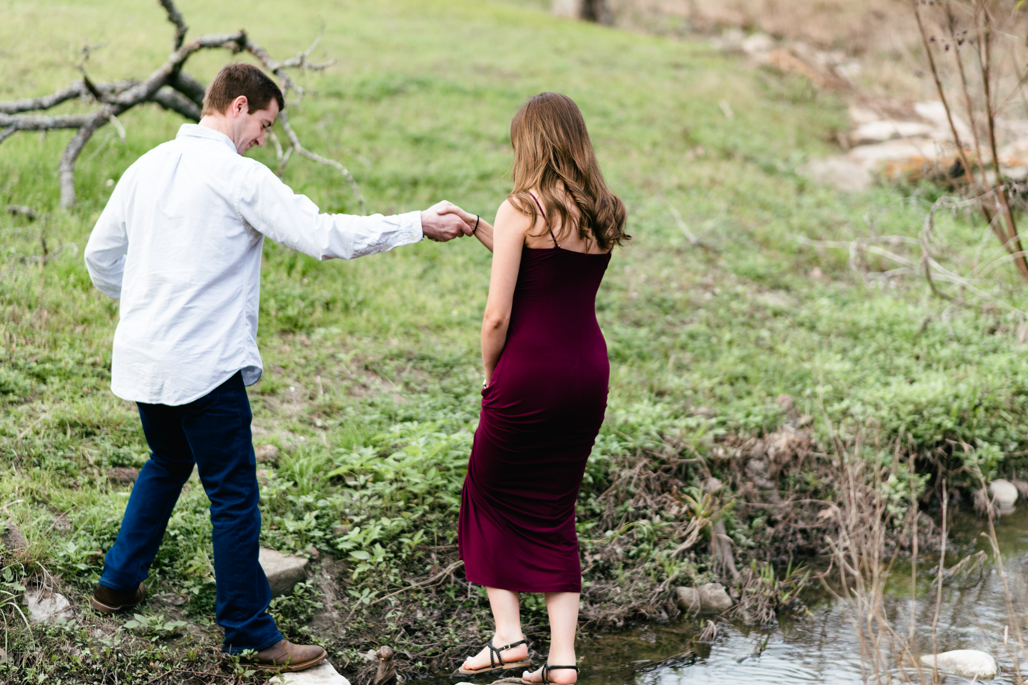 outdoor maternity session college station