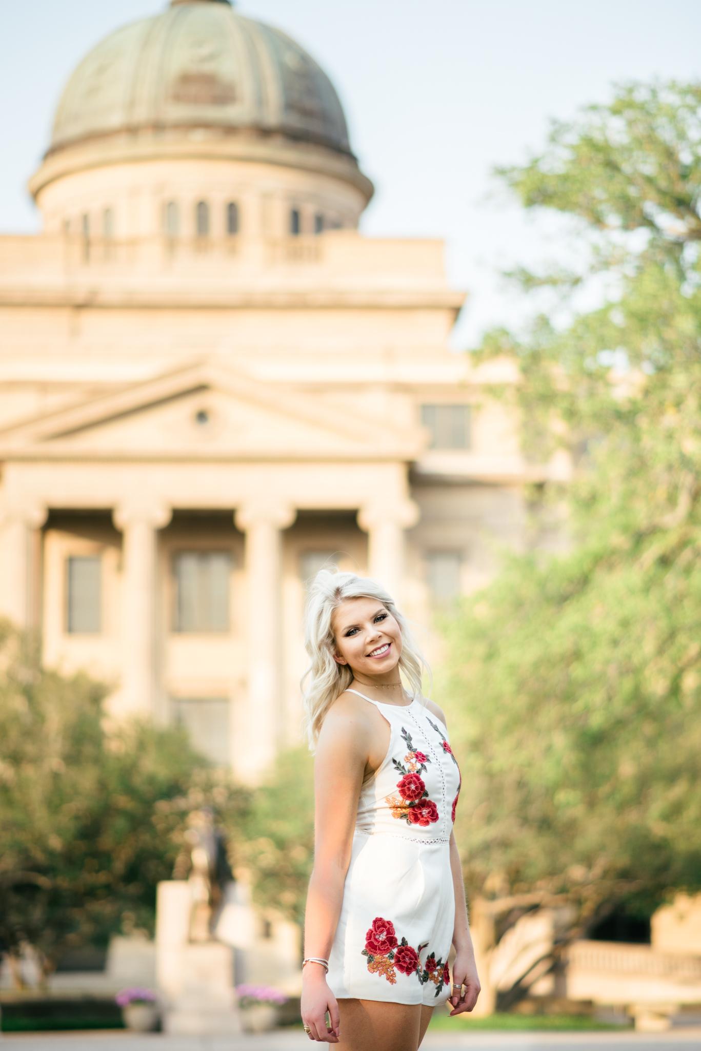 Texas A&M University senior