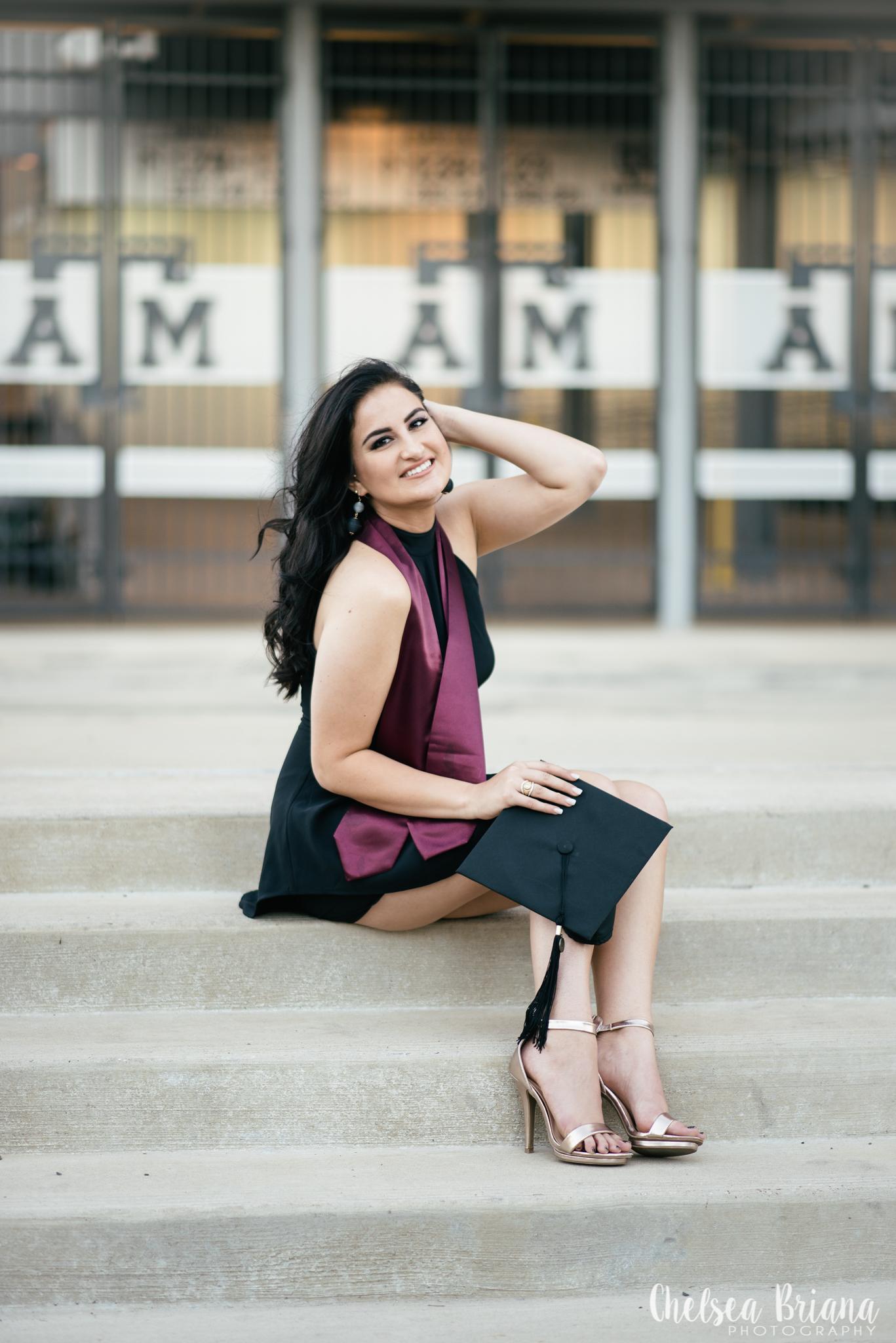 Texas A&M senior pictures