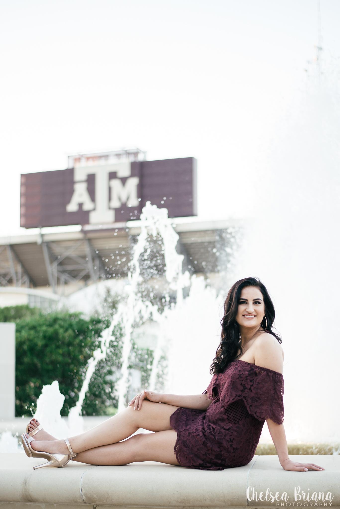 Texas A&M senior photos