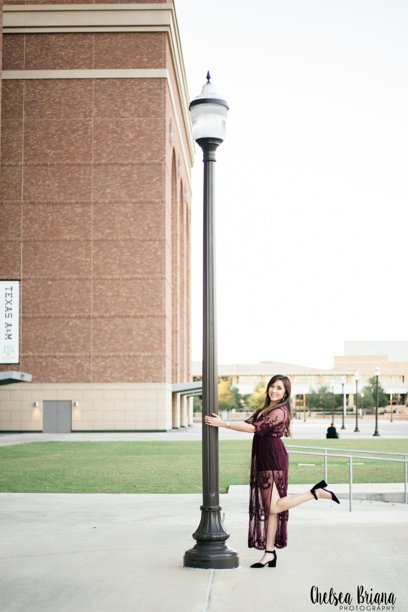 college station senior photographer