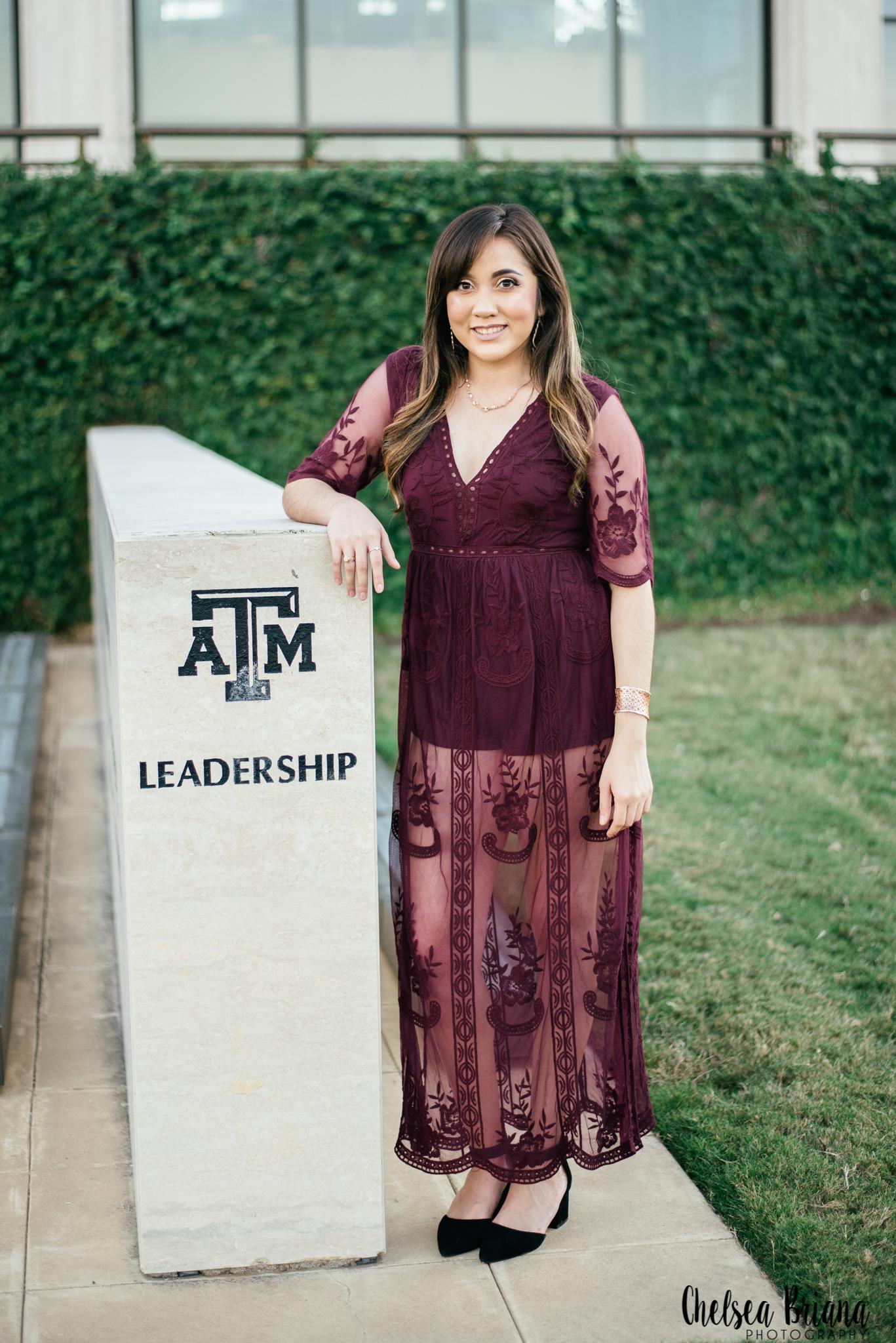 Texas A&M senior photographer