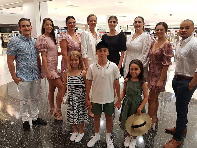 More fashions from today by retailers at @stocklandtownsville  We were grateful to showcase @myer @countryroad @bardot @dotti_squad @sussanfashion @portmans_ @jaxxjaxxjaxx @tarocash @connor_clothing @ydaustralia  #localwork #localmodel #townsvilleagent #townsvillemodels #springfashions #catwalkmodel #promotionalagency #siamodelmanagement